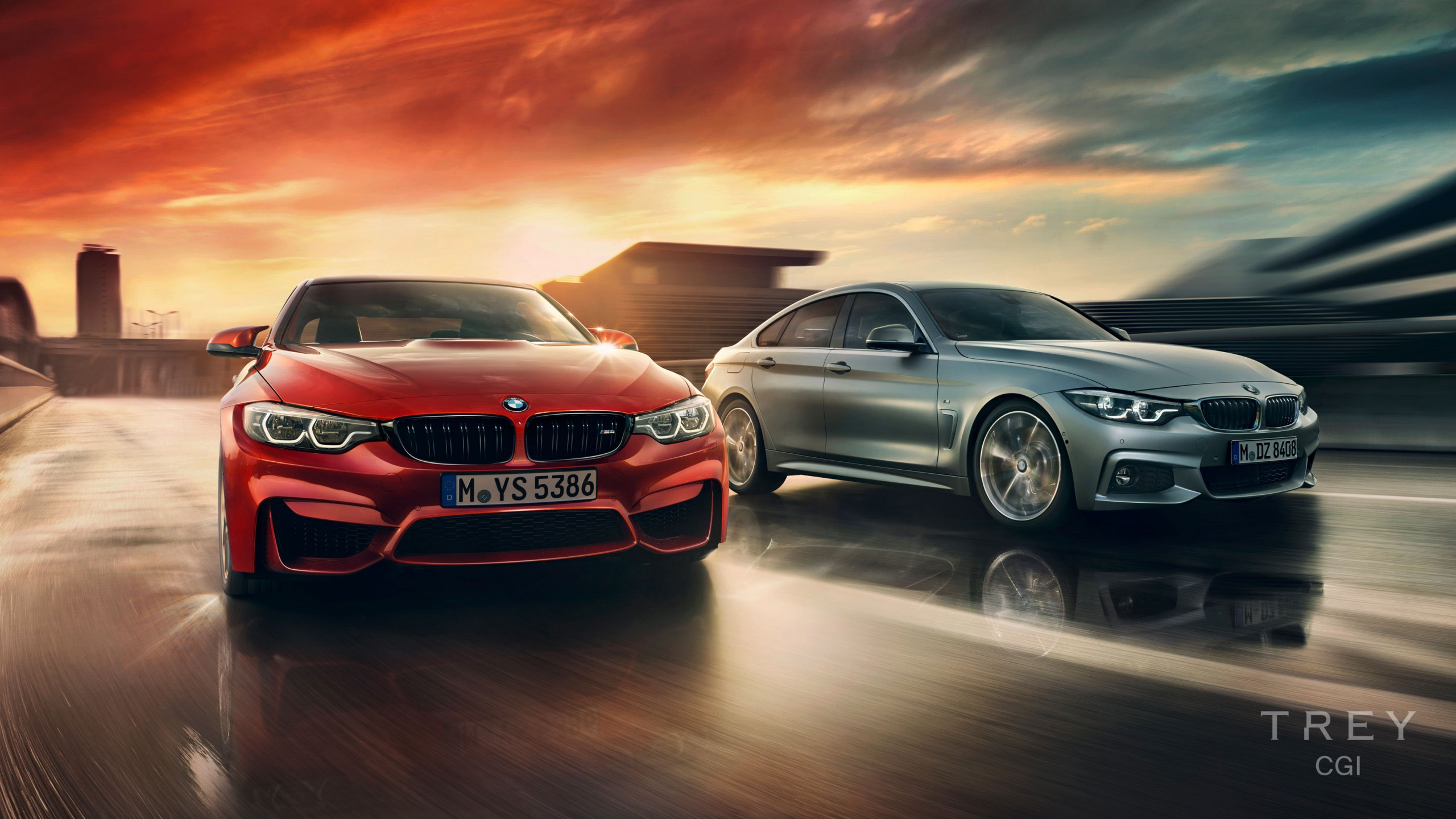 Bmw 4 Series Gran Coupe M3 M4 Wallpaper Hd Car