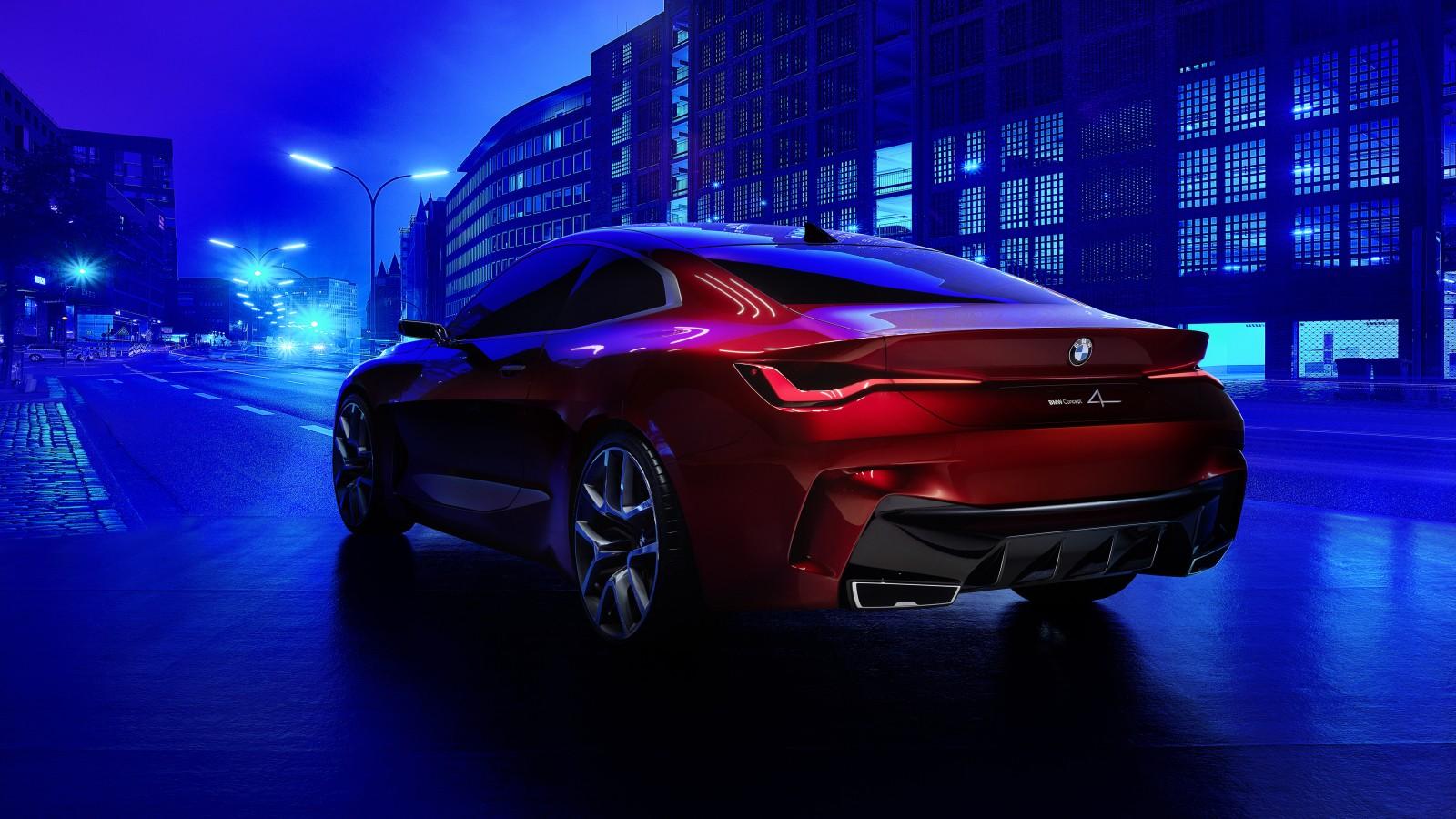 BMW Concept 4 2019 4K 10 Wallpaper
