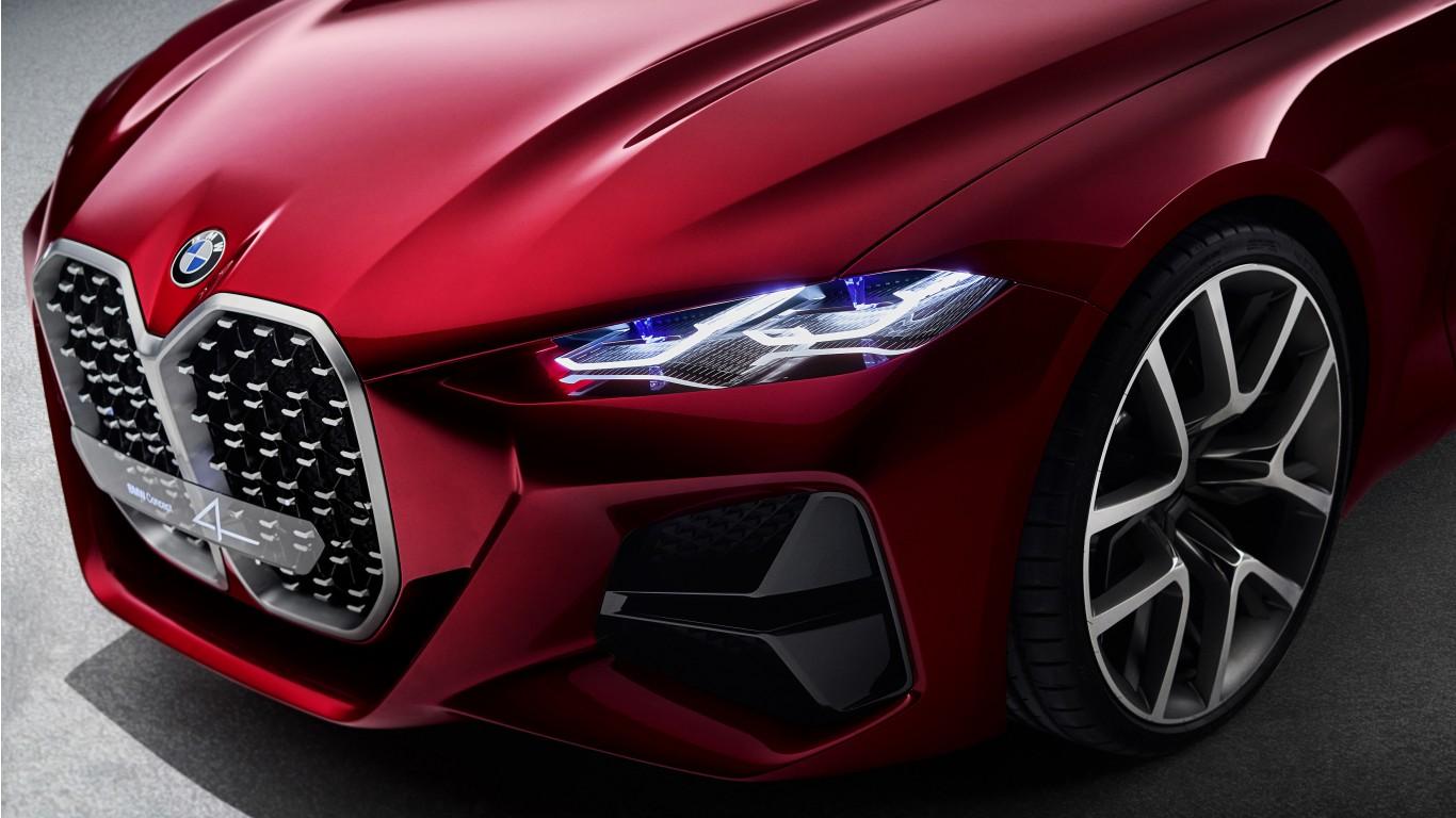 Bmw Concept 4 2019 4k 7 Wallpaper Hd Car Wallpapers Id