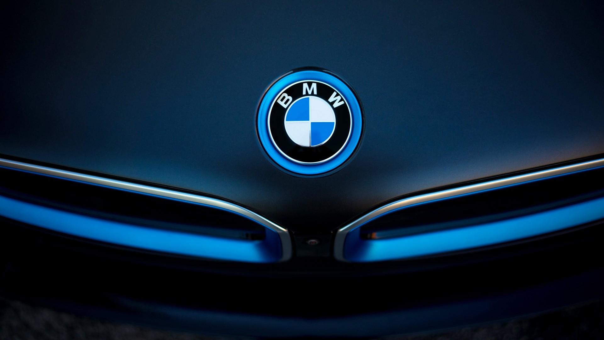BMW i8 Badge Wallpaper | HD Car Wallpapers | ID #5540