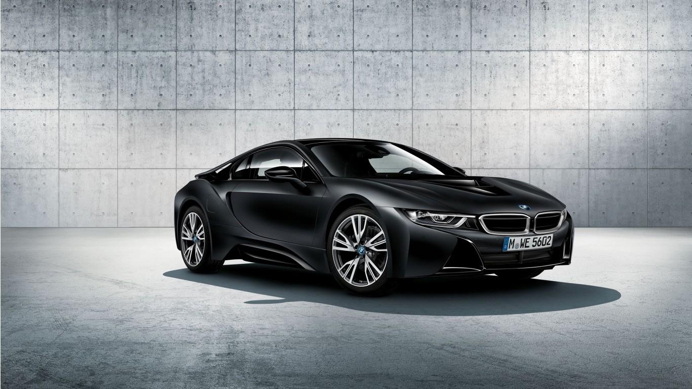 BMW i8 Frozen Black Edition Wallpaper | HD Car Wallpapers ...