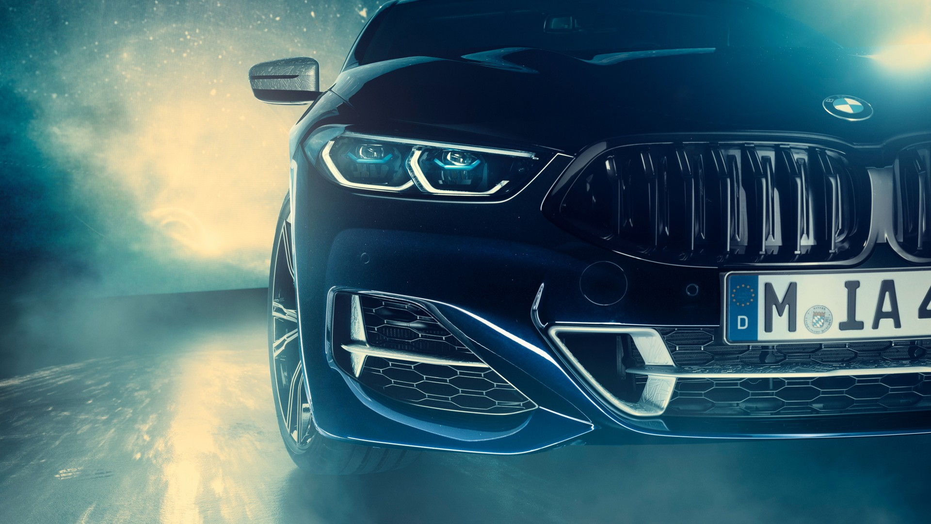 Bmw Individual M850i Xdrive Night Sky 2019 4k Wallpaper