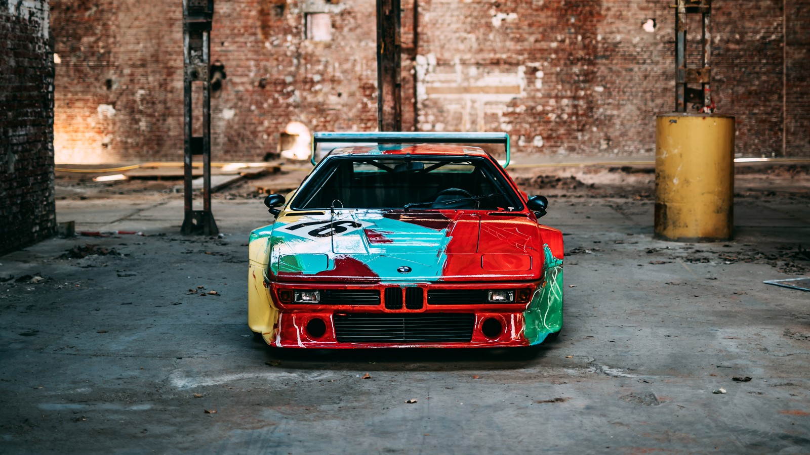 Bmw M1 Group 4 Rennversion Art Car By Andy Warhol
