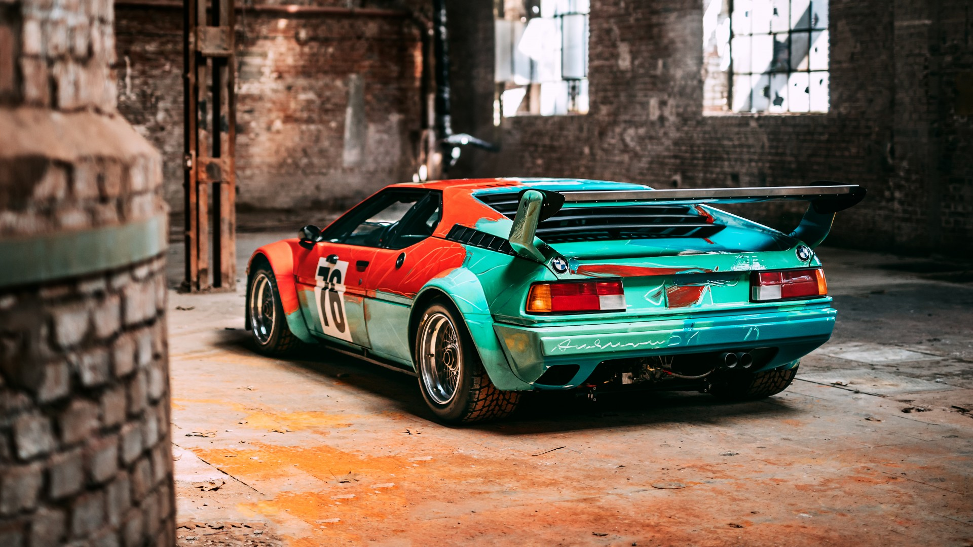 K And M Dodge >> BMW M1 Group 4 Rennversion Art Car by Andy Warhol