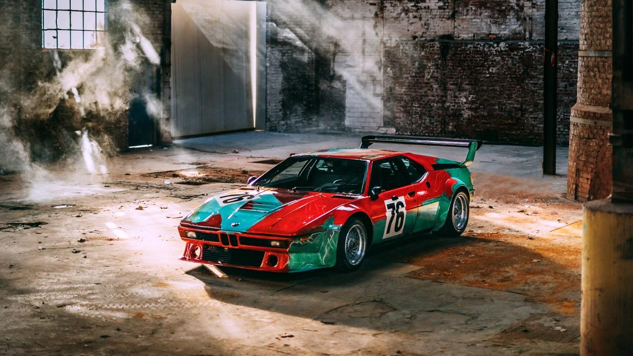 BMW M1 Group 4 Rennversion Art Car by Andy Warhol ...