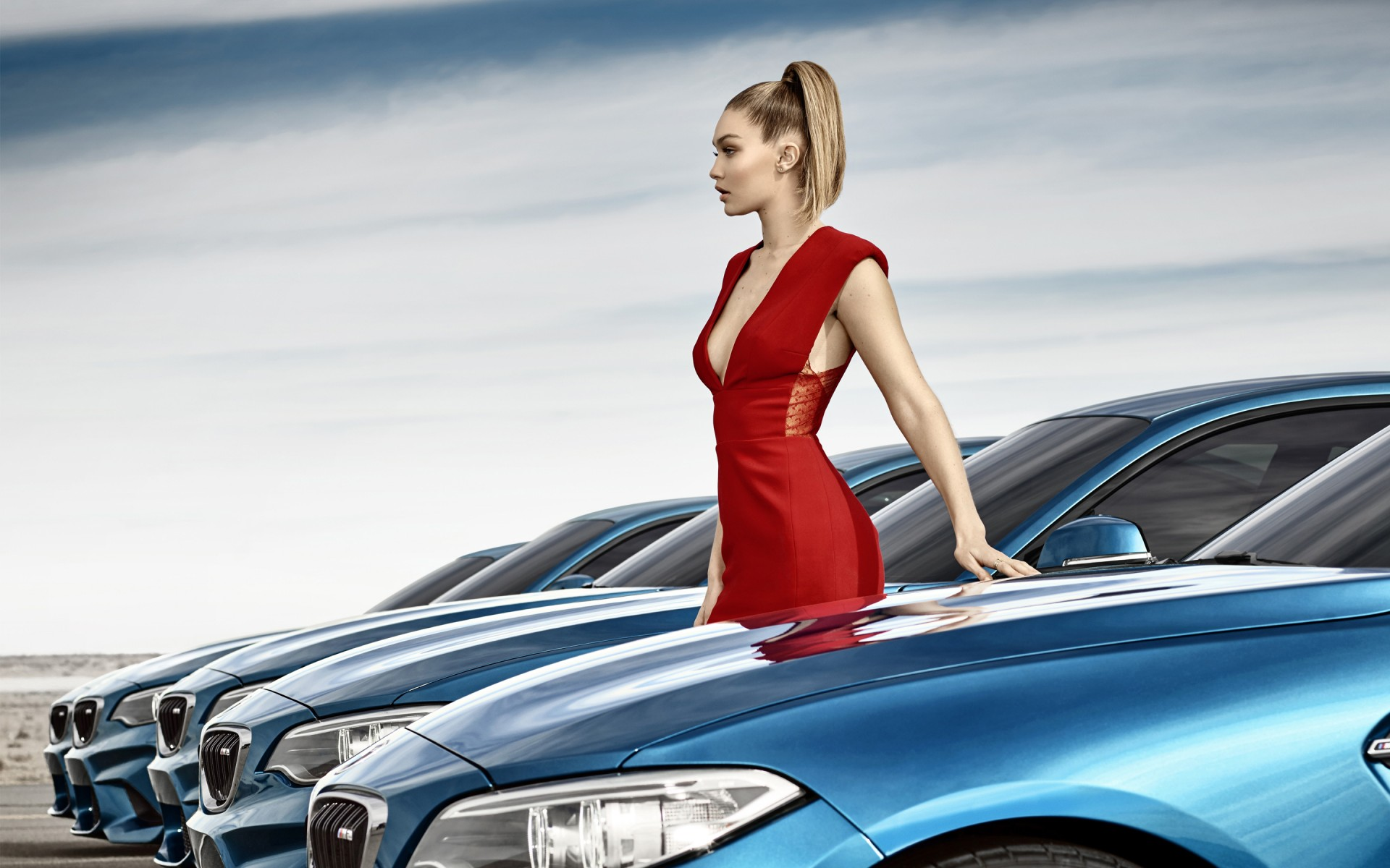 Bmw M2 Coupe Gigi Hadid Wallpaper Hd Car Wallpapers Id