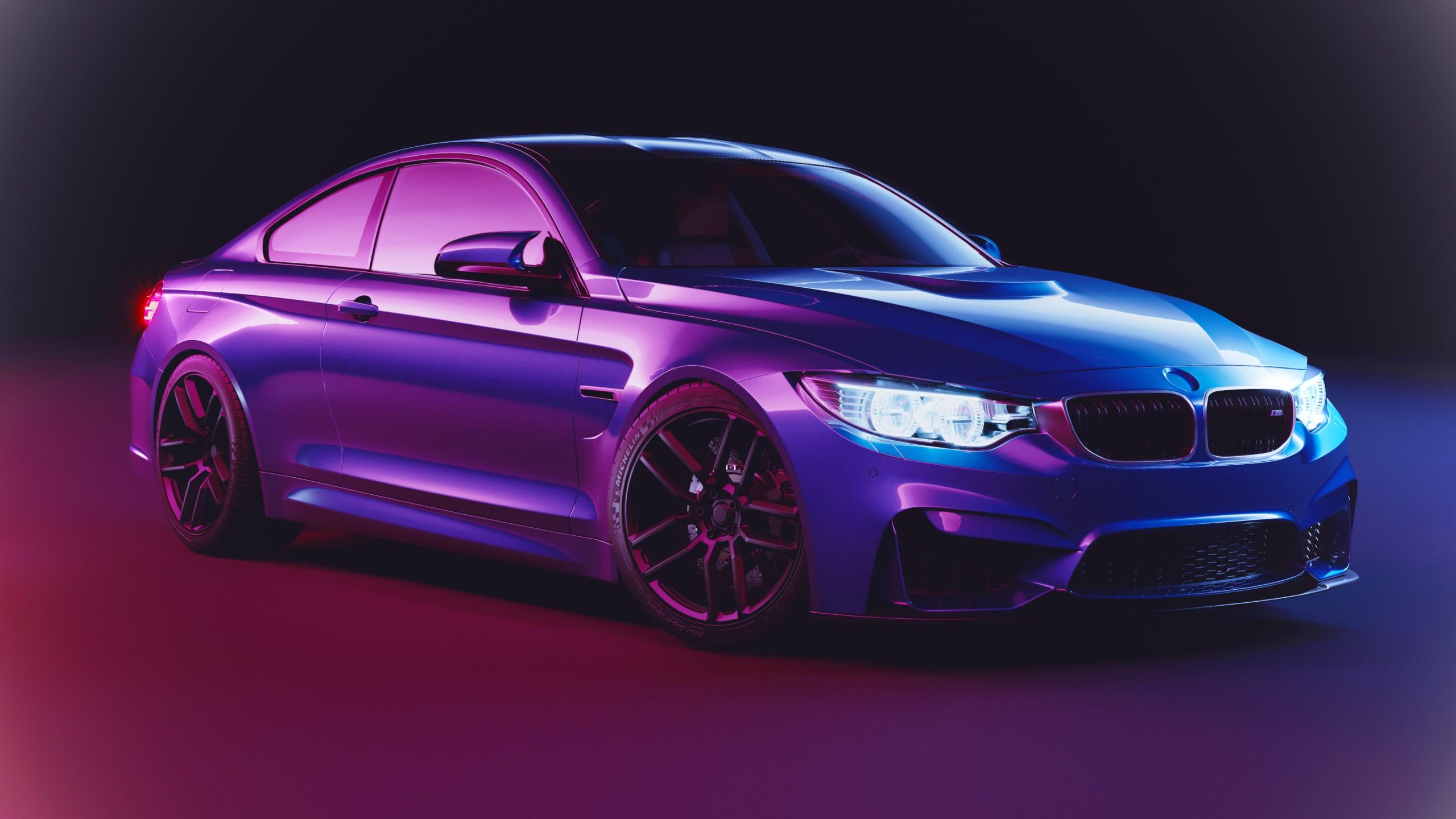BMW M4 4K Wallpaper