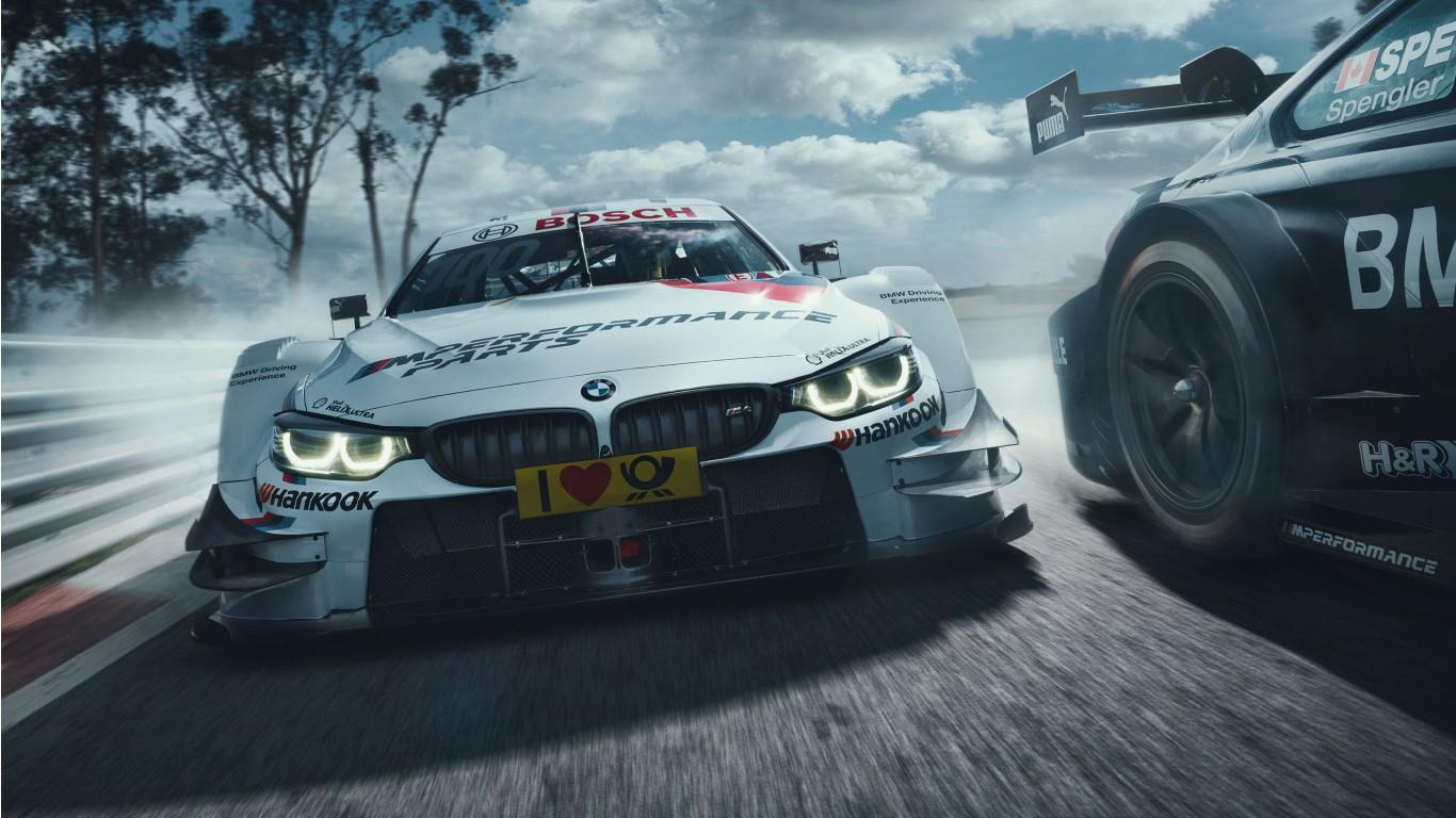 Wallpaper Android Motorsport: BMW M4 DTM Motorsport Wallpaper