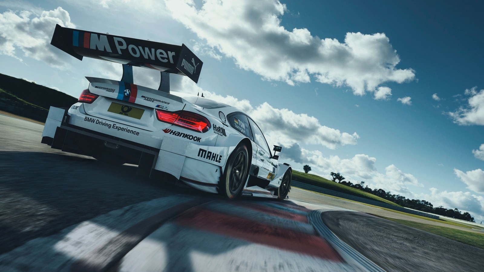 BMW M4 DTM Racing track Wallpaper | HD Car Wallpapers | ID ...