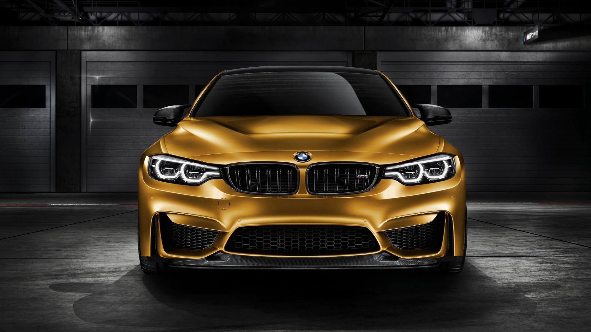 Bmw M4 Gts Sunburstgold 2018 4k Wallpaper Hd Car