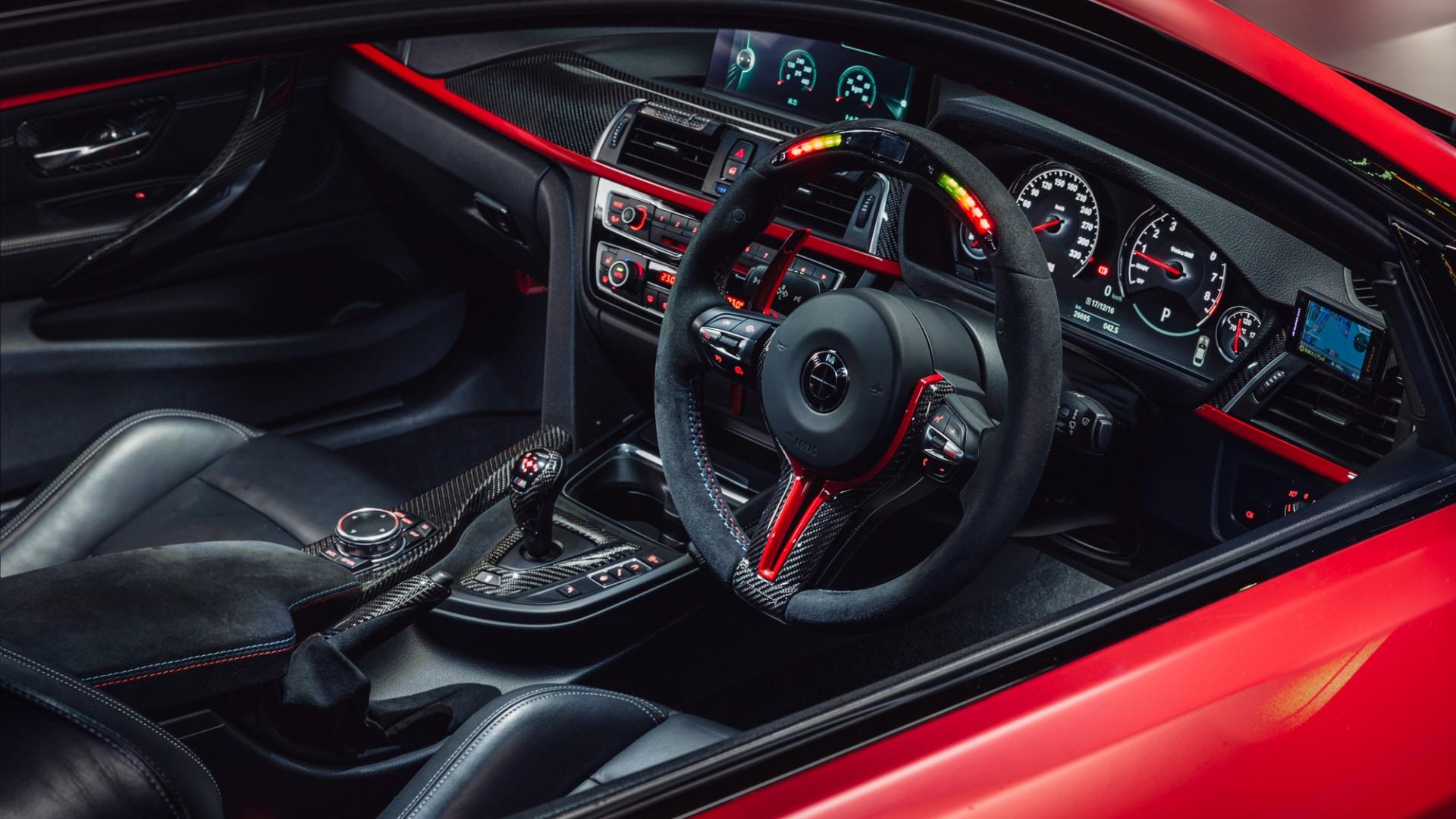 BMW M4 Interior Wallpaper | HD Car Wallpapers | ID #11792