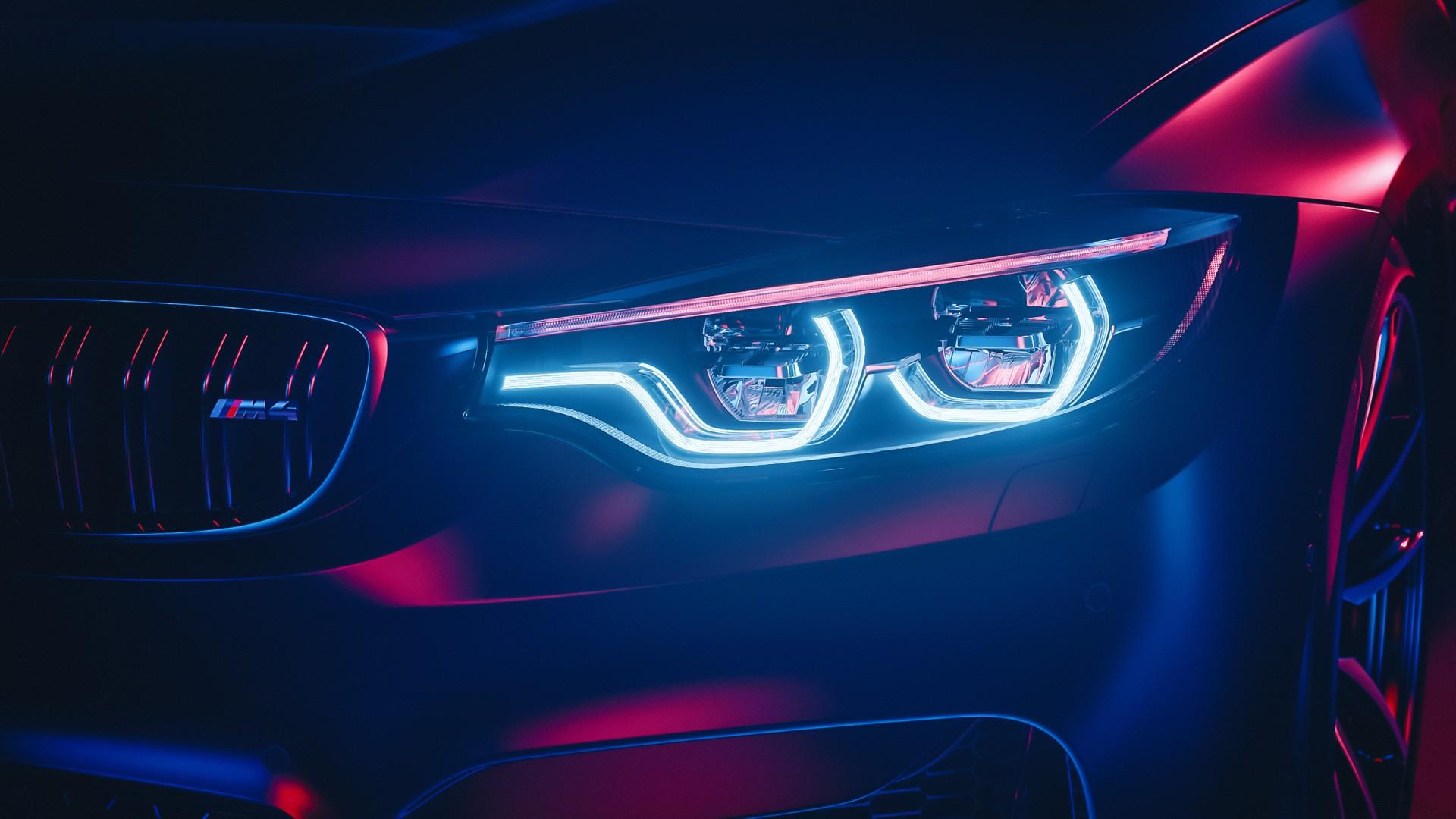 Bmw M4 Led Headlights Wallpaper Hd Car Wallpapers Id 14040