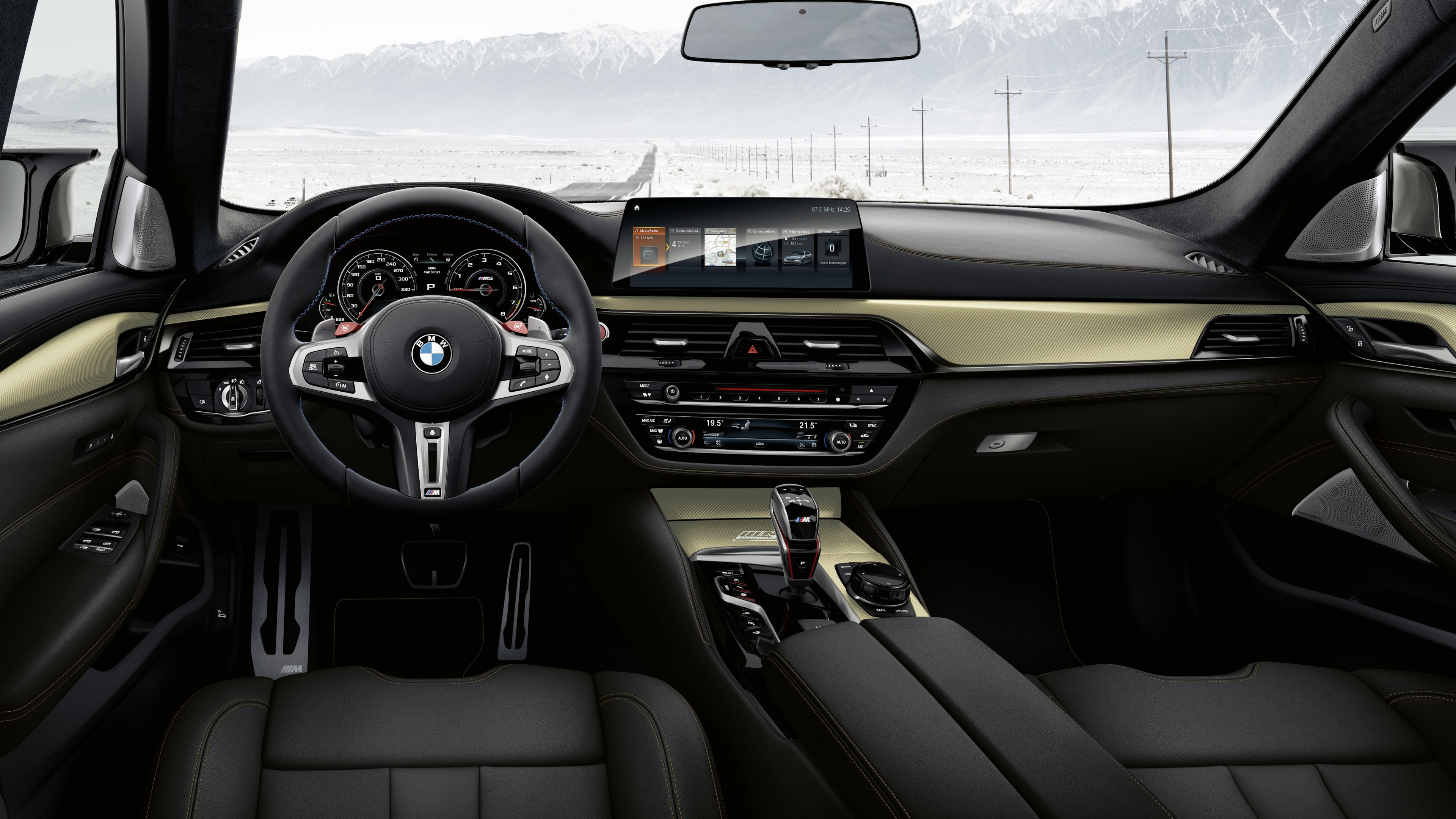 Bmw M5 Competition Edition 35 Jahre 2019 Interior Wallpaper Hd Car Wallpapers Id 12614