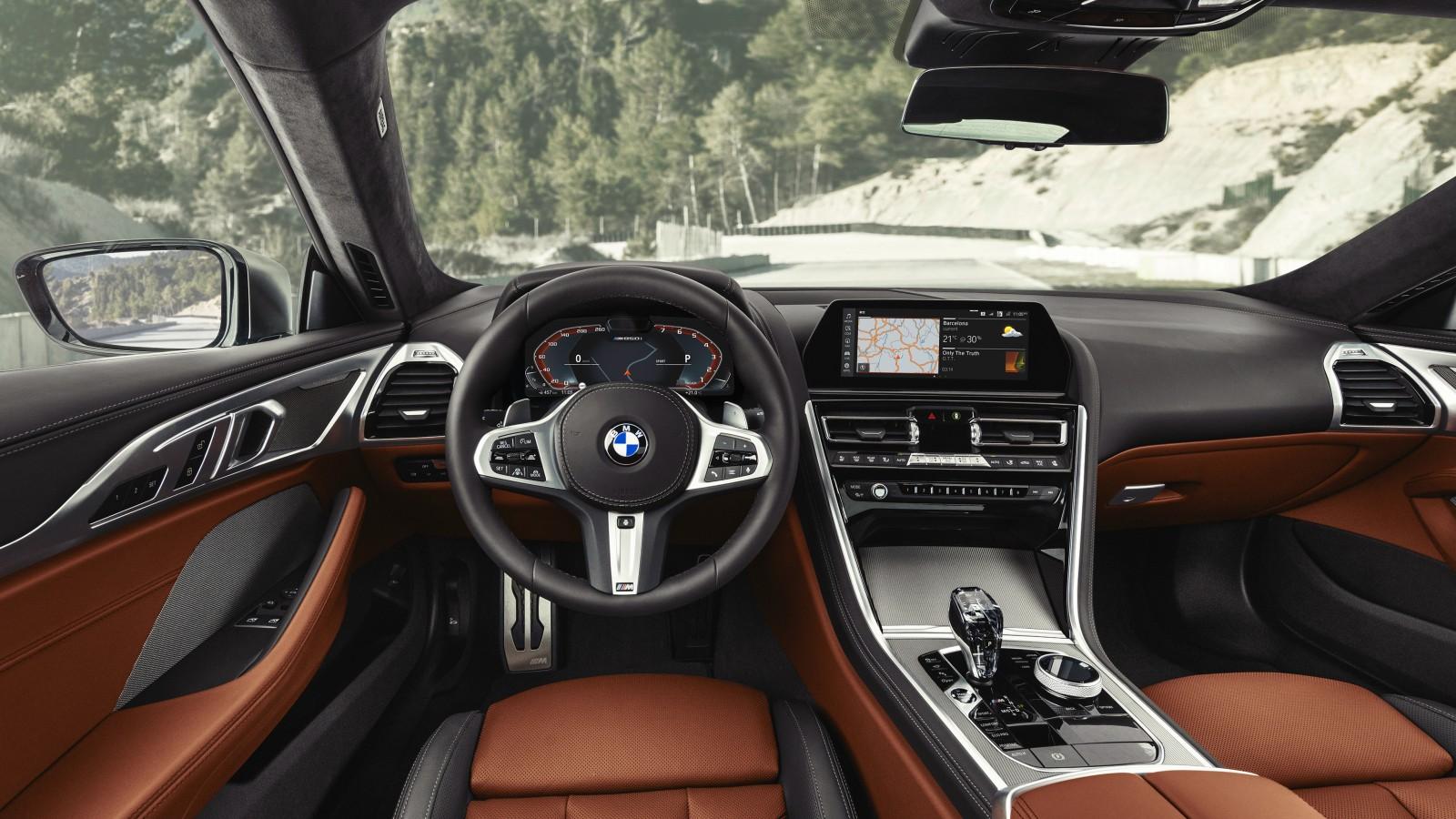 Bmw M850i Xdrive 2018 4k Interior Wallpaper Hd Car