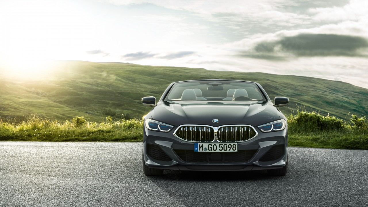 BMW M850i xDrive Cabrio 2018 4K 4 Wallpaper HD Car