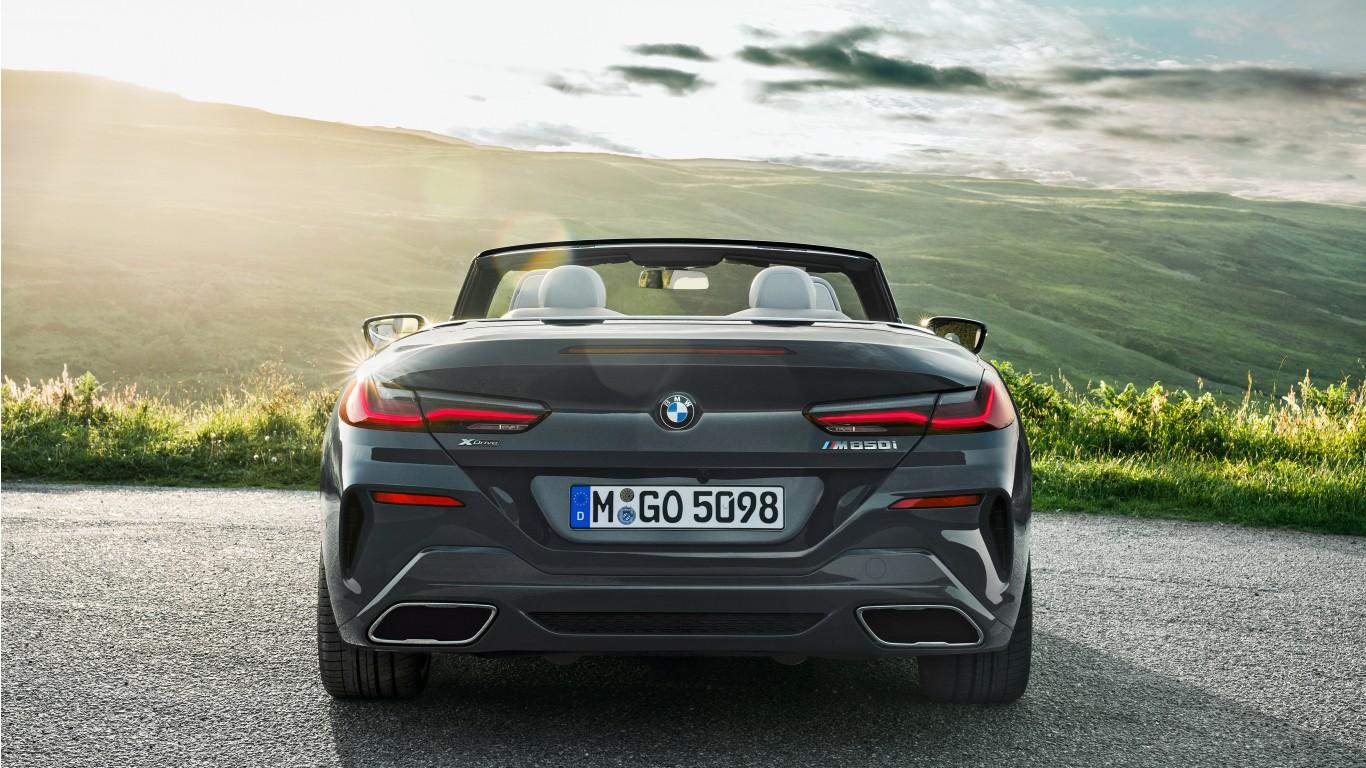 BMW M850i xDrive Cabrio 2018 4K 5 Wallpaper | HD Car ...