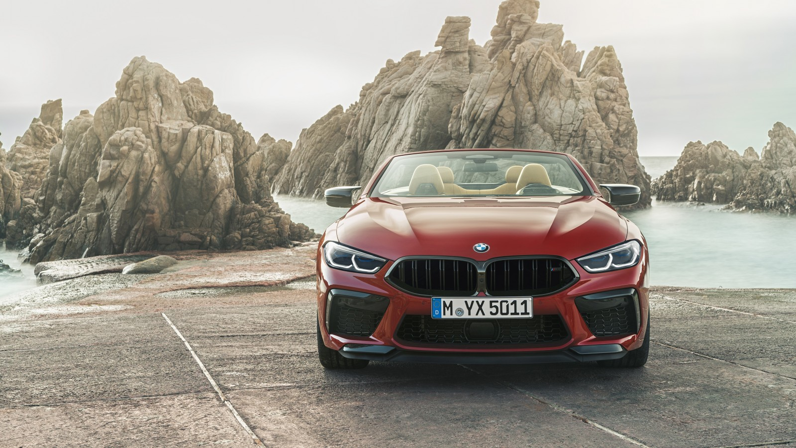 bmw m8 competition cabrio 2019 4k 2 wallpaper hd car