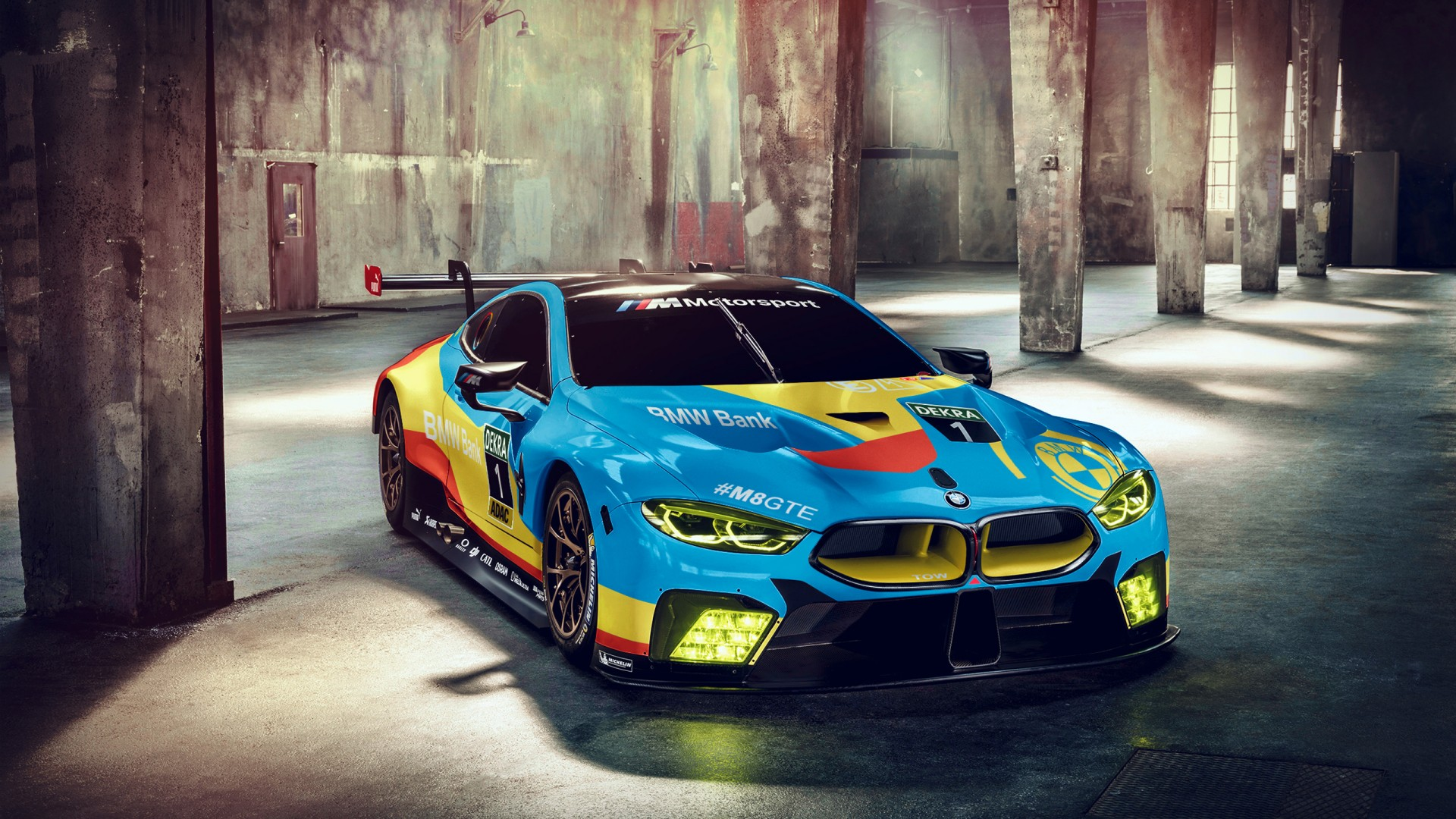 BMW M8 GTE 2018 Wallpaper