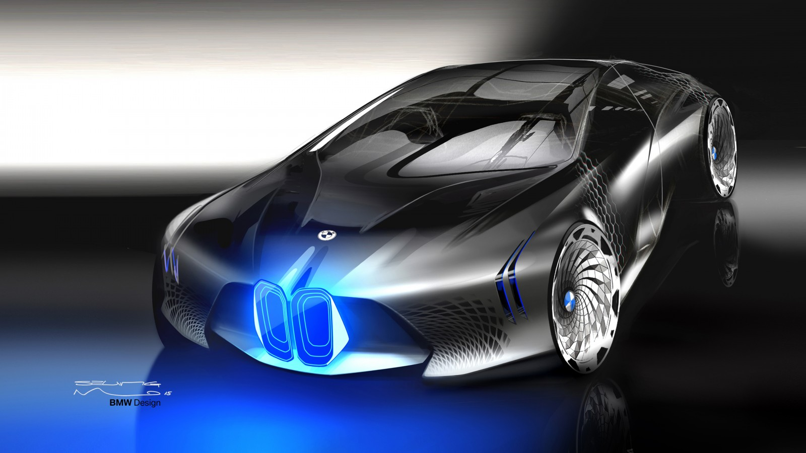 Future Of The Car: BMW Vision Next 100 Concept Design Wallpaper