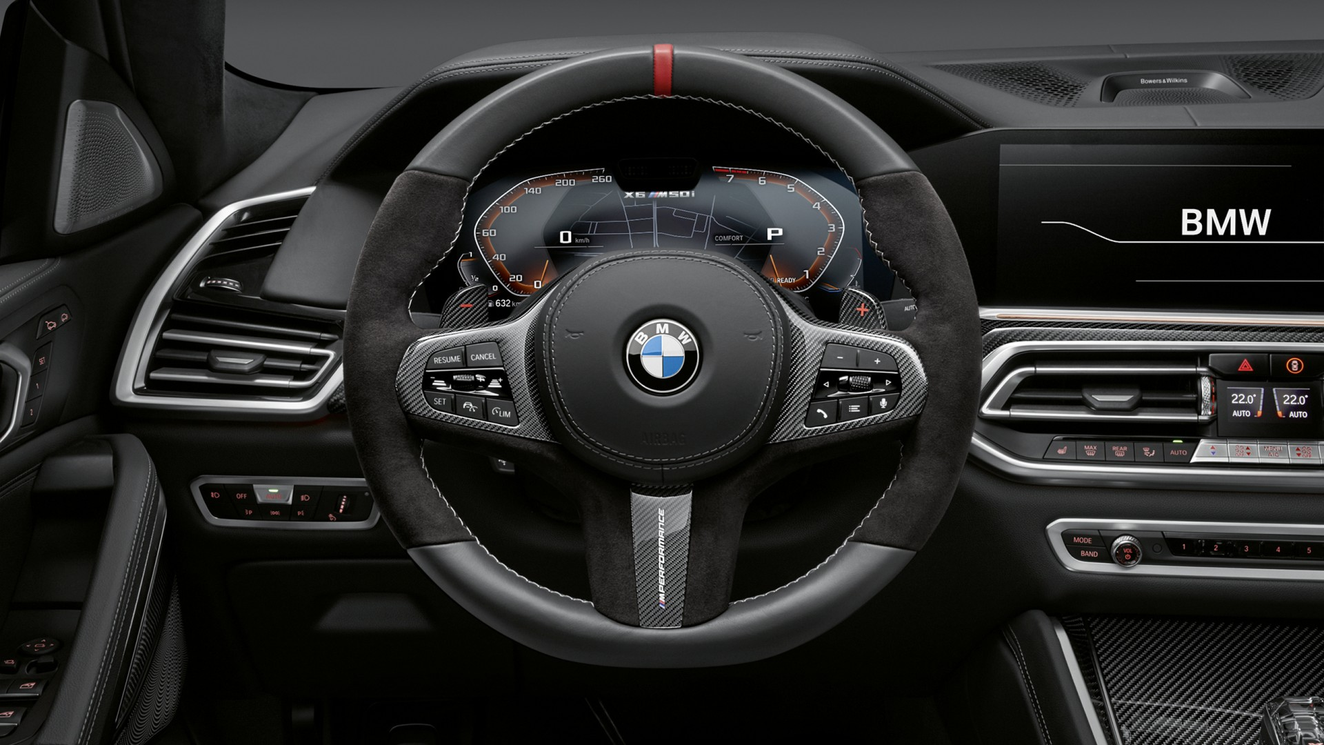 BMW X6 M Performance Parts 2019 Interior Wallpaper | HD