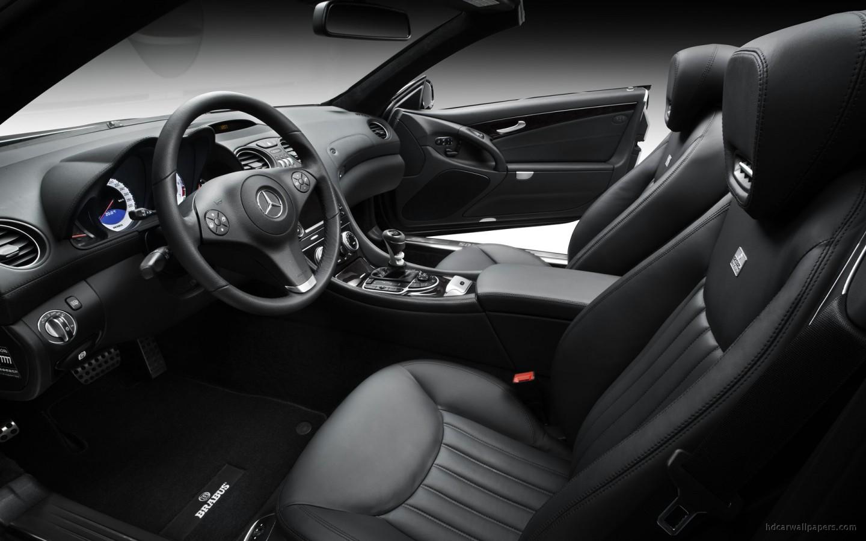 Brabus Mercedes Sl Class Interior Wallpaper Hd Car