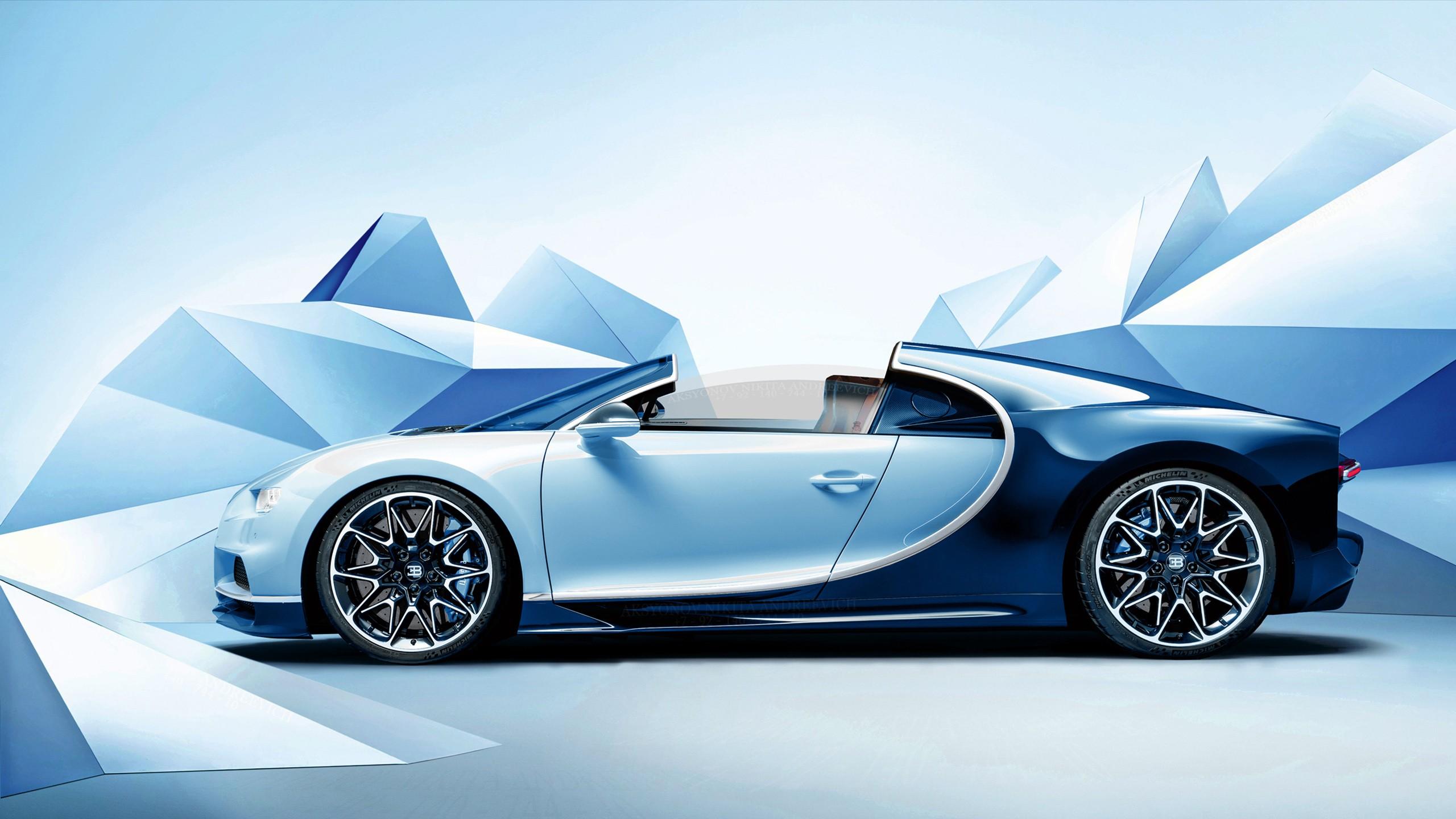 Bugatti Chiron Roadster Wallpaper   HD Car Wallpapers   ID ...