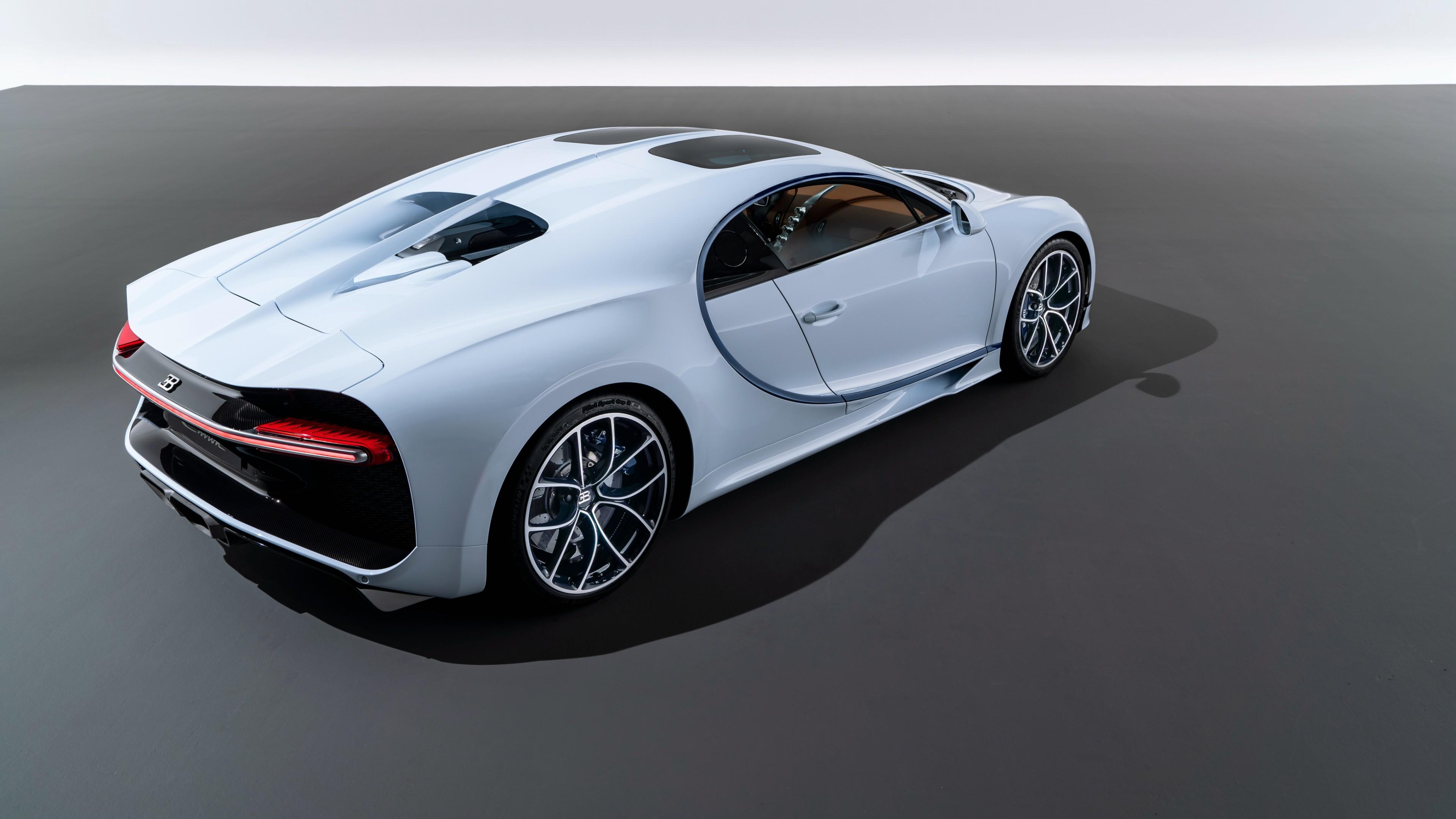 Bugatti Chiron Sky View Show Car 4K 3 Wallpaper HD Car