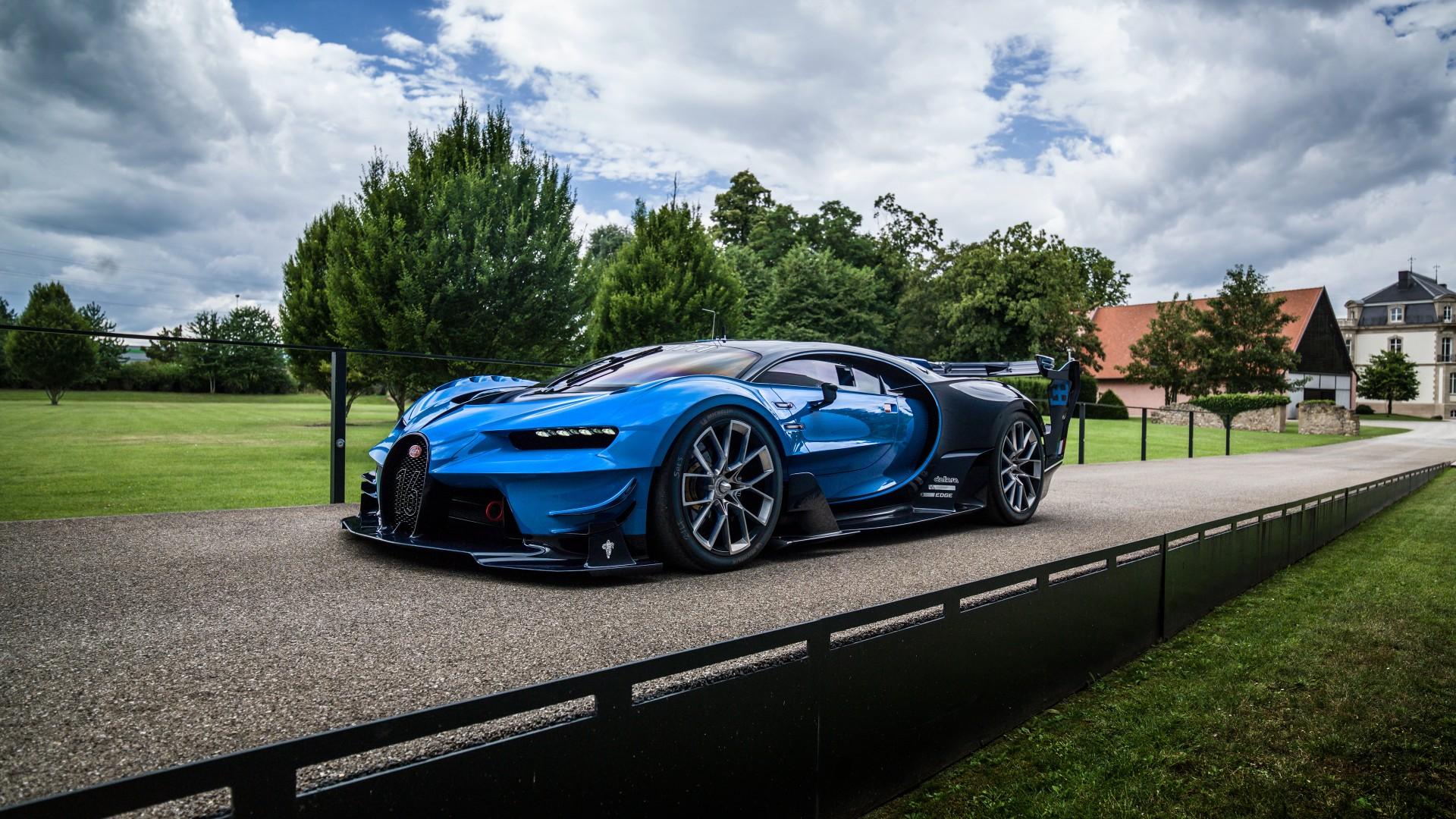 Bugatti Car Hd Wallpapers Free Download For Android Mobile: Bugatti Chiron Vision Gran Turismo Wallpaper