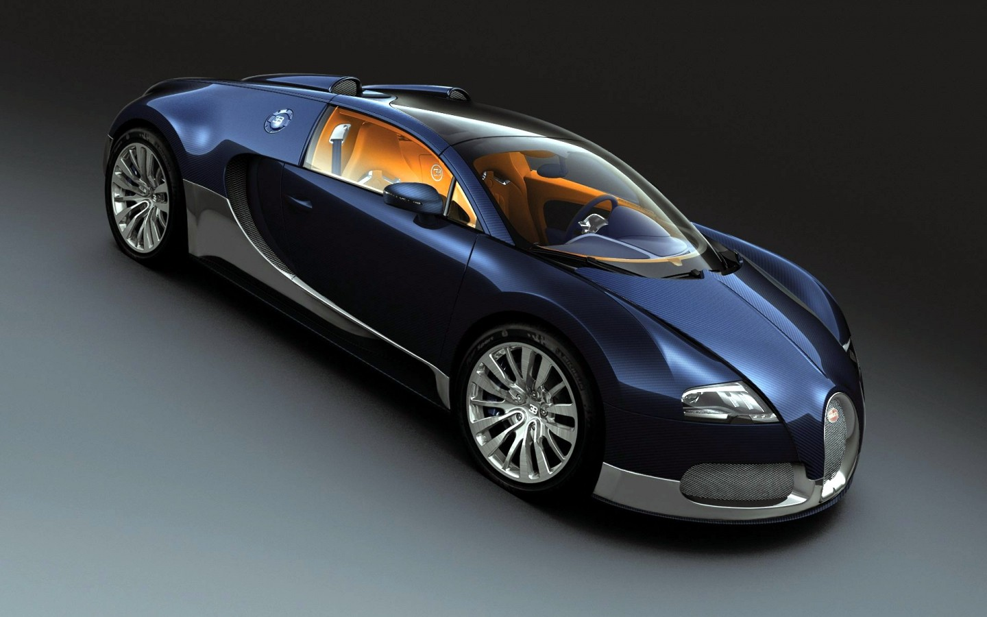 Wallpaper Bugatti Veyron Grand Sport: Bugatti Veyron Grand Sport 2011 Wallpaper