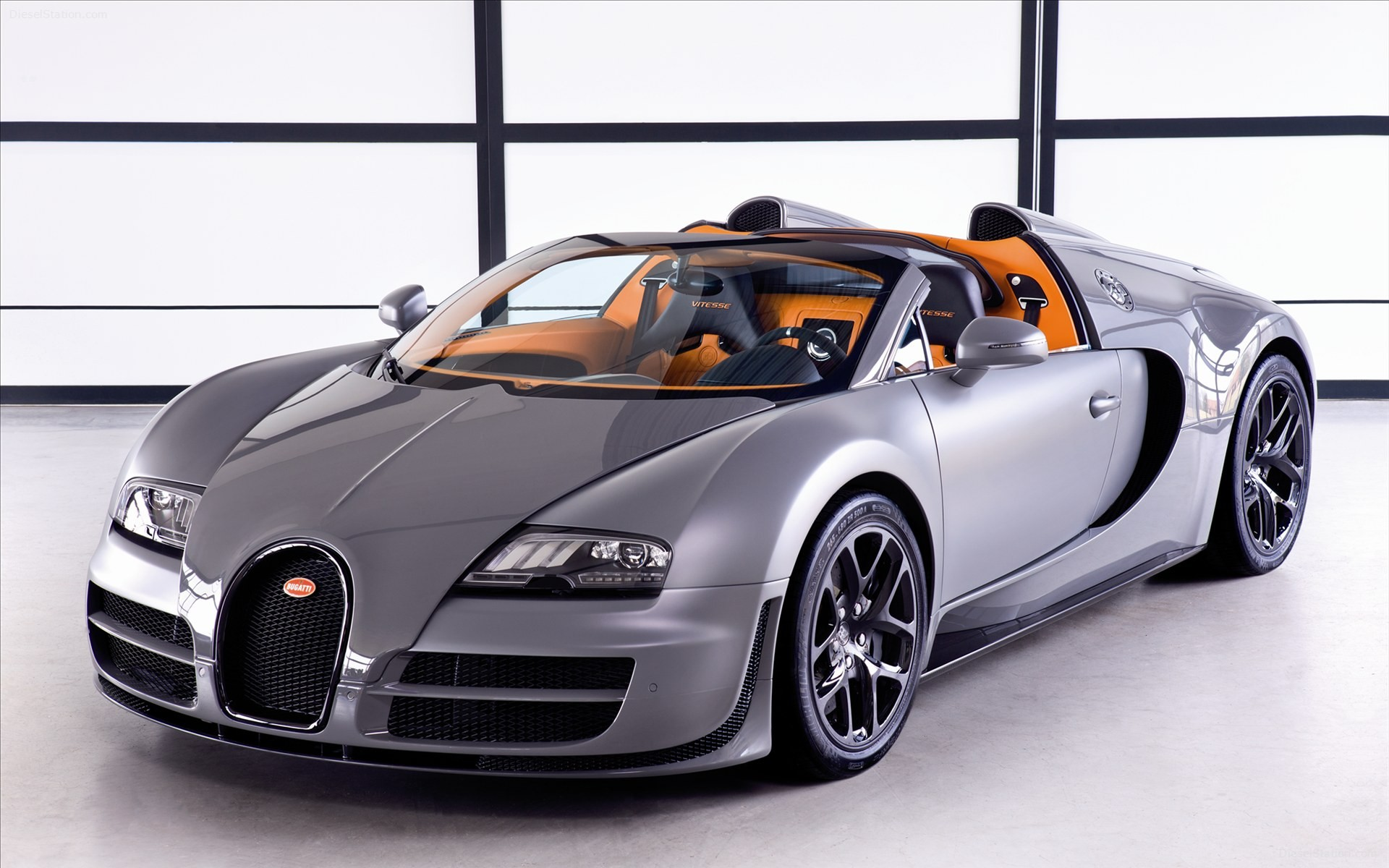 Wallpaper Bugatti Veyron Grand Sport: Bugatti Veyron Grand Sport Vitesse 2012 Wallpaper