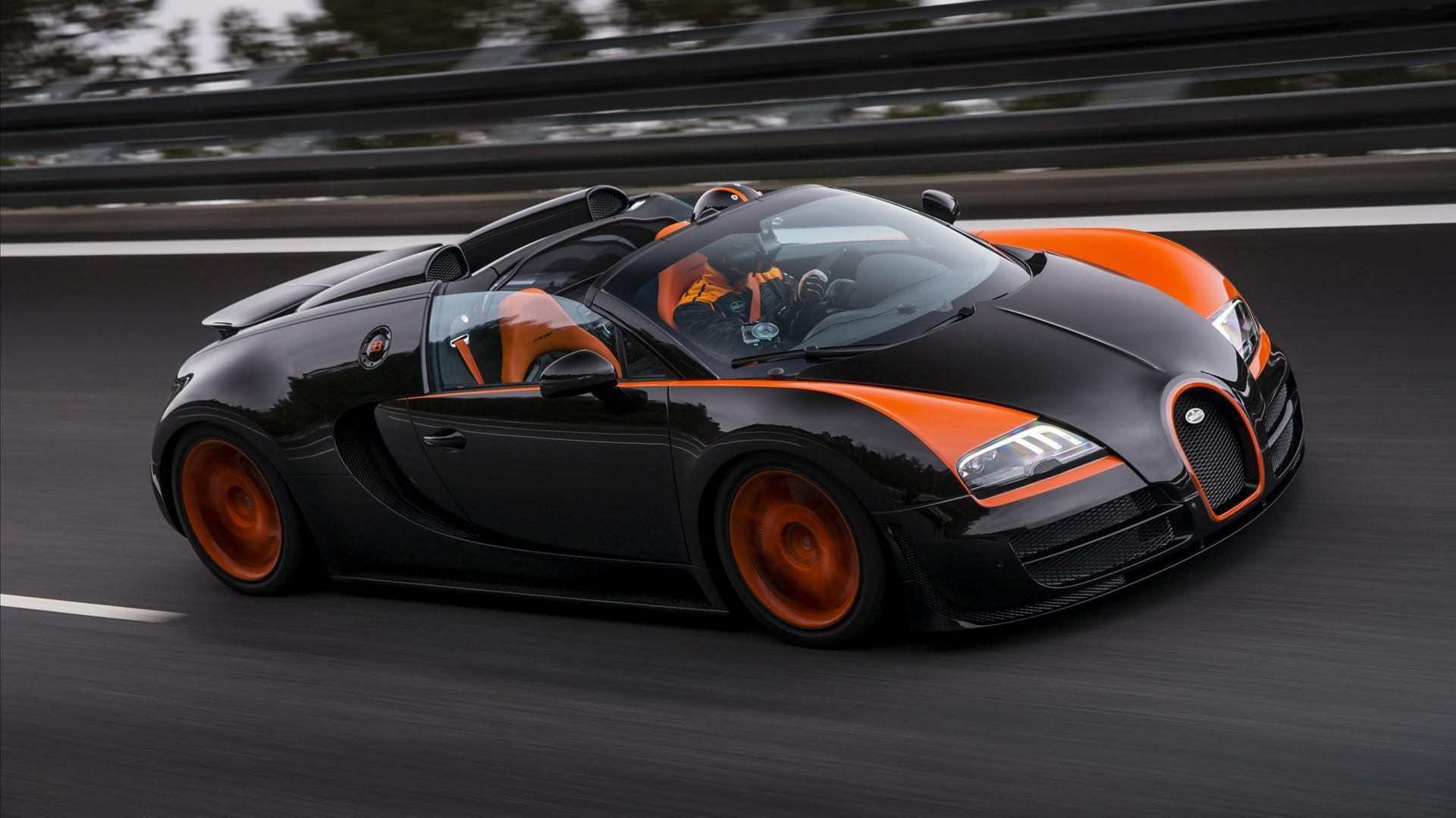 Bugatti Veyron Grand Sport Vitesse 3 Wallpaper
