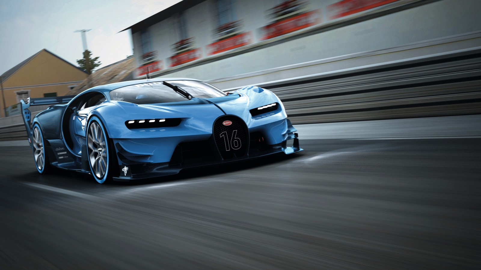Bugatti Vision Gran Turismo 2015 Wallpaper Hd Car