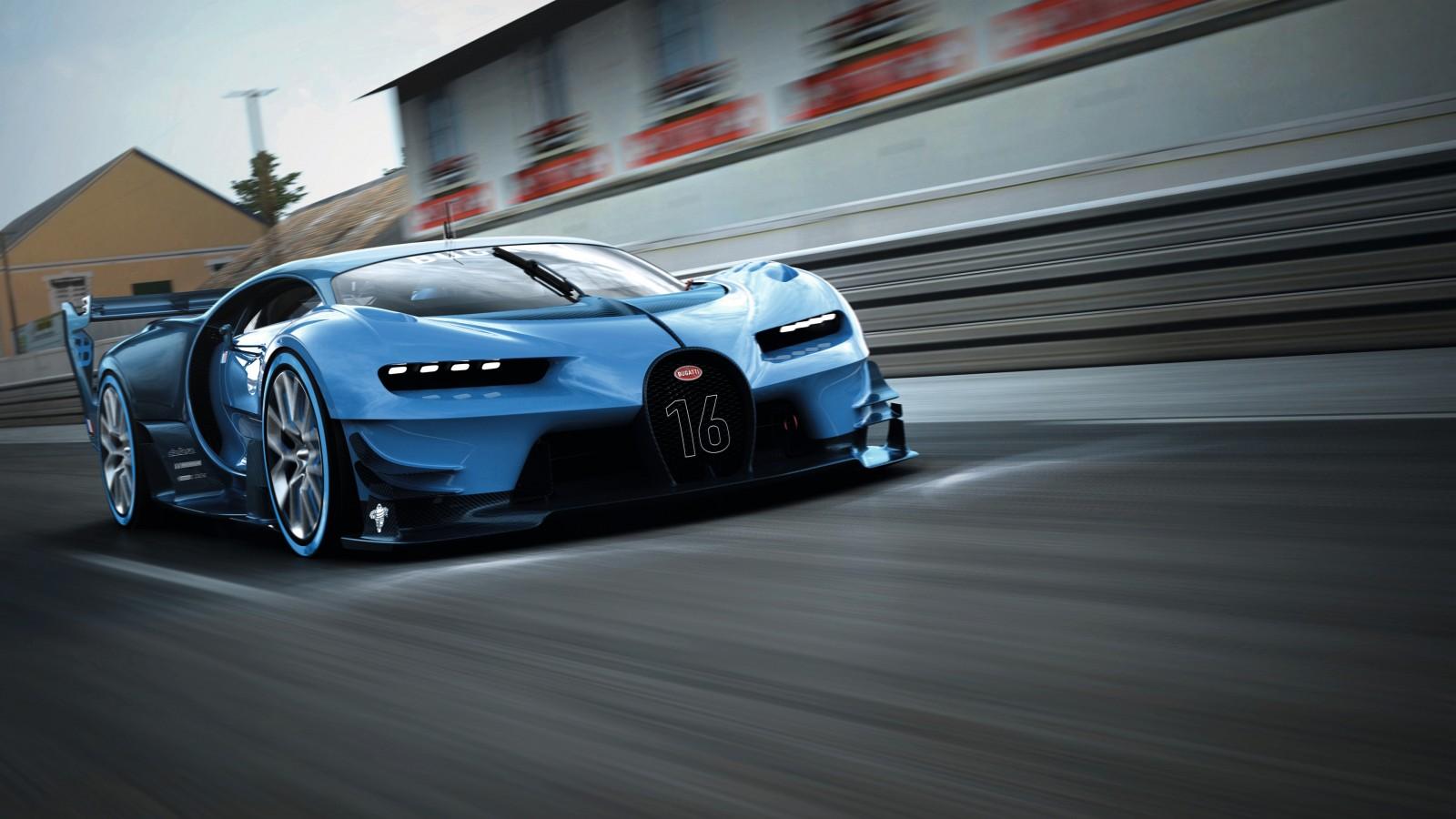 Bugatti Car Hd Wallpapers Free Download For Android Mobile: Bugatti Vision Gran Turismo 2015 Wallpaper