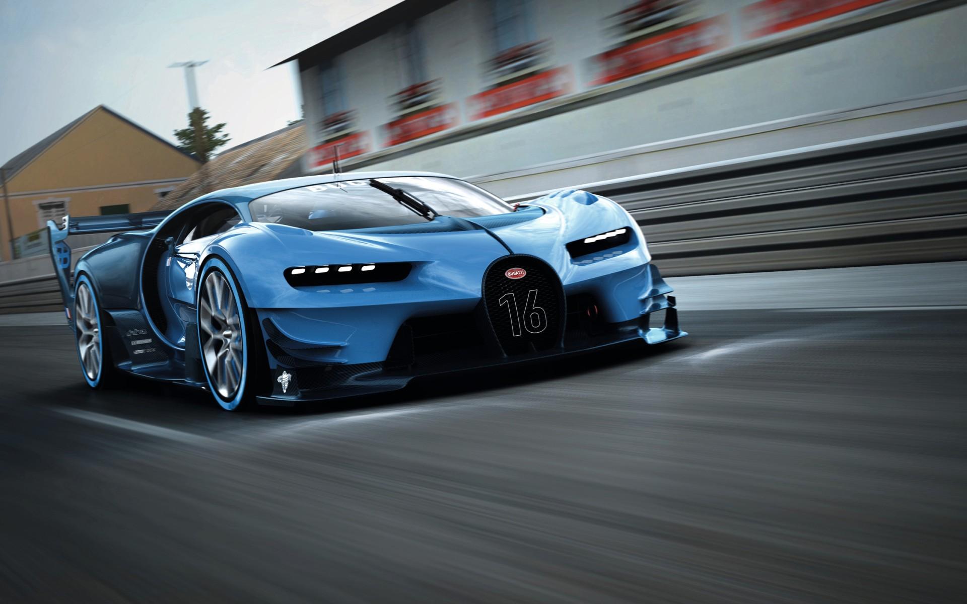 Bugatti Vision Gran Turismo 2015 Wallpaper | HD Car ...