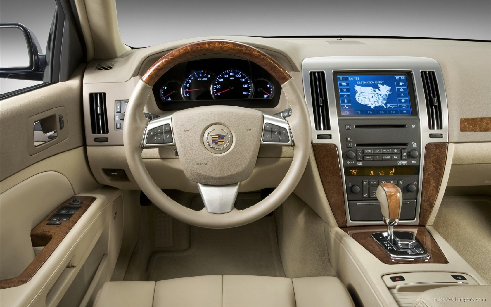Cadillac Sts Car Interior Wallpaper Hd Car Wallpapers