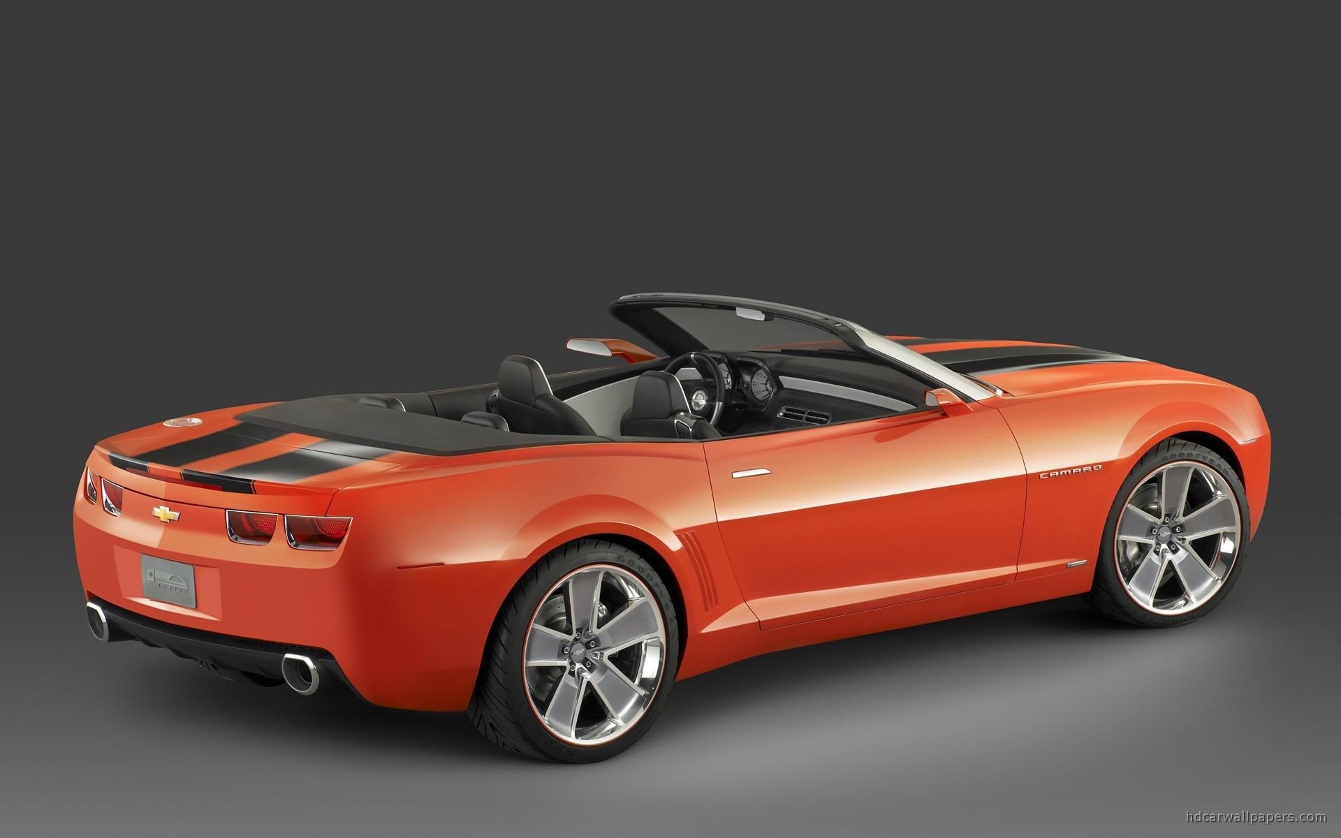 Chevrolet Camaro Convertible Concept 2 Wallpaper | HD Car ...