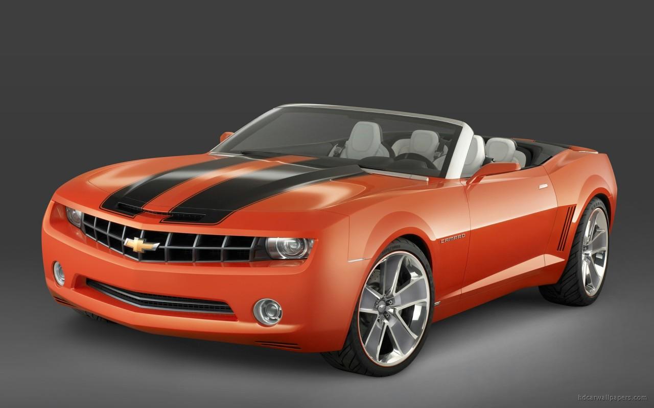 Chevrolet Camaro Convertible Concept 3 Wallpaper Hd Car