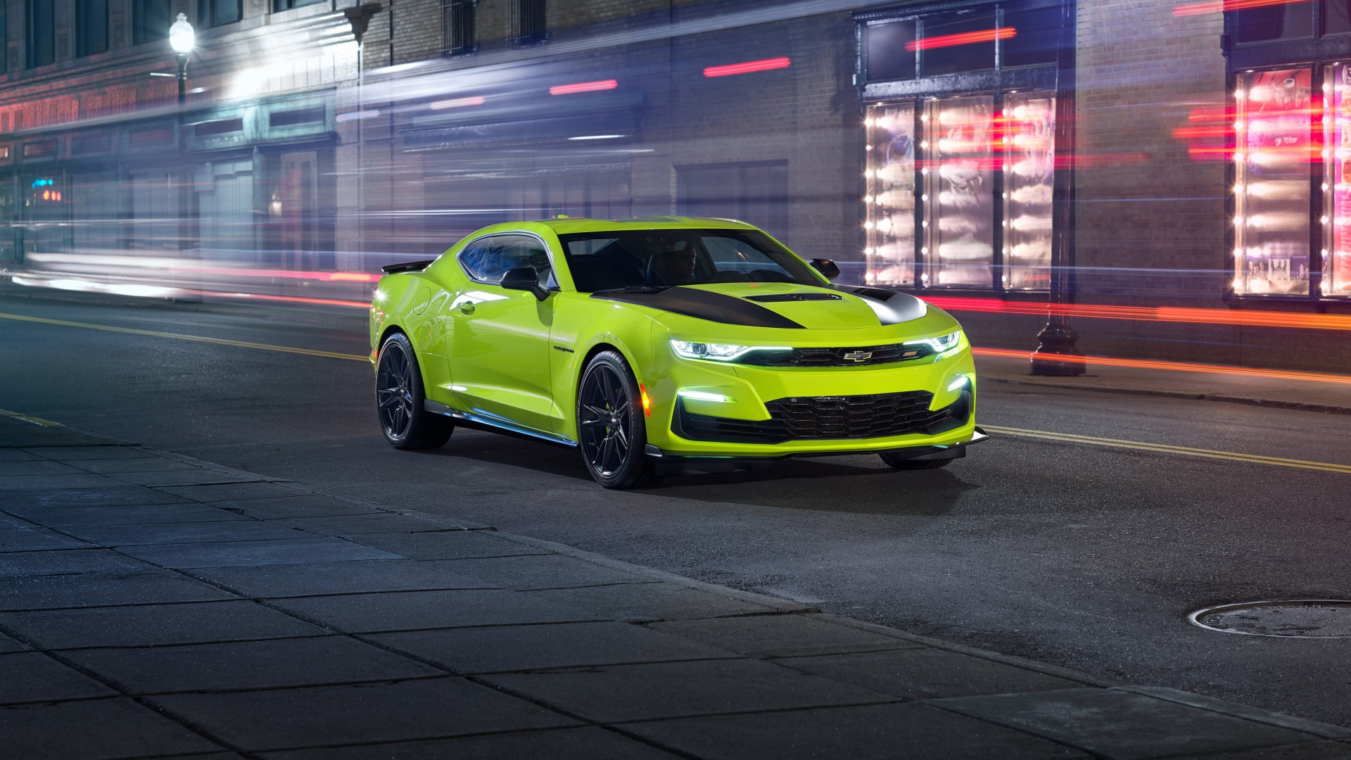 Chevrolet Camaro Ss Shock Concept 4k 2018 Wallpaper Hd