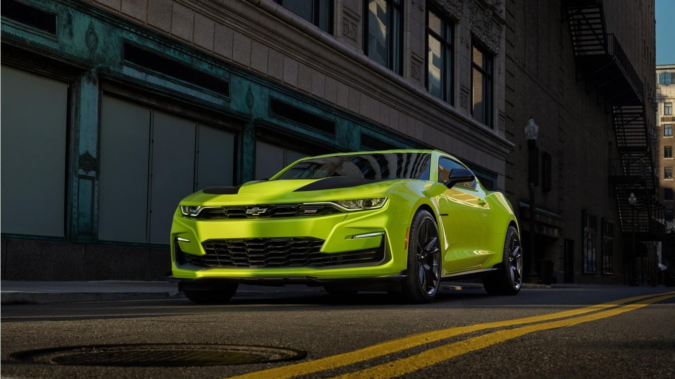 Chevrolet Camaro Ss Shock Concept 4k 2018 2 Wallpaper Hd