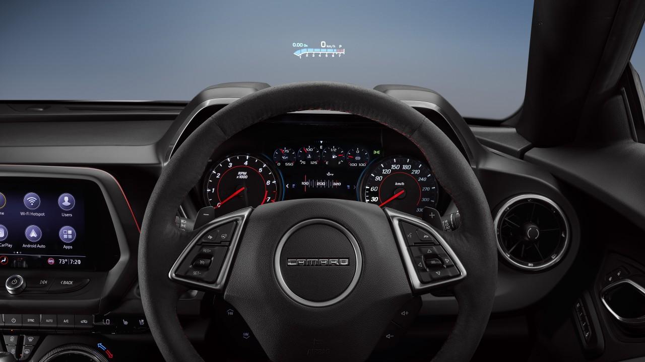 Chevrolet Camaro ZL1 2019 4K Interior Wallpaper | HD Car ...