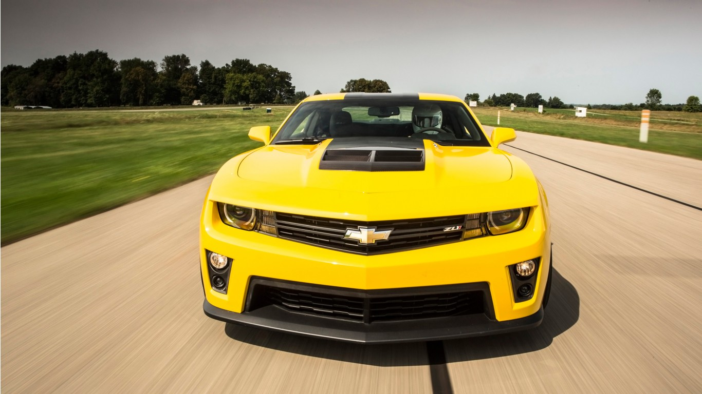 Chevrolet Camaro Zl1 Coupe 2014 Wallpaper Hd Car