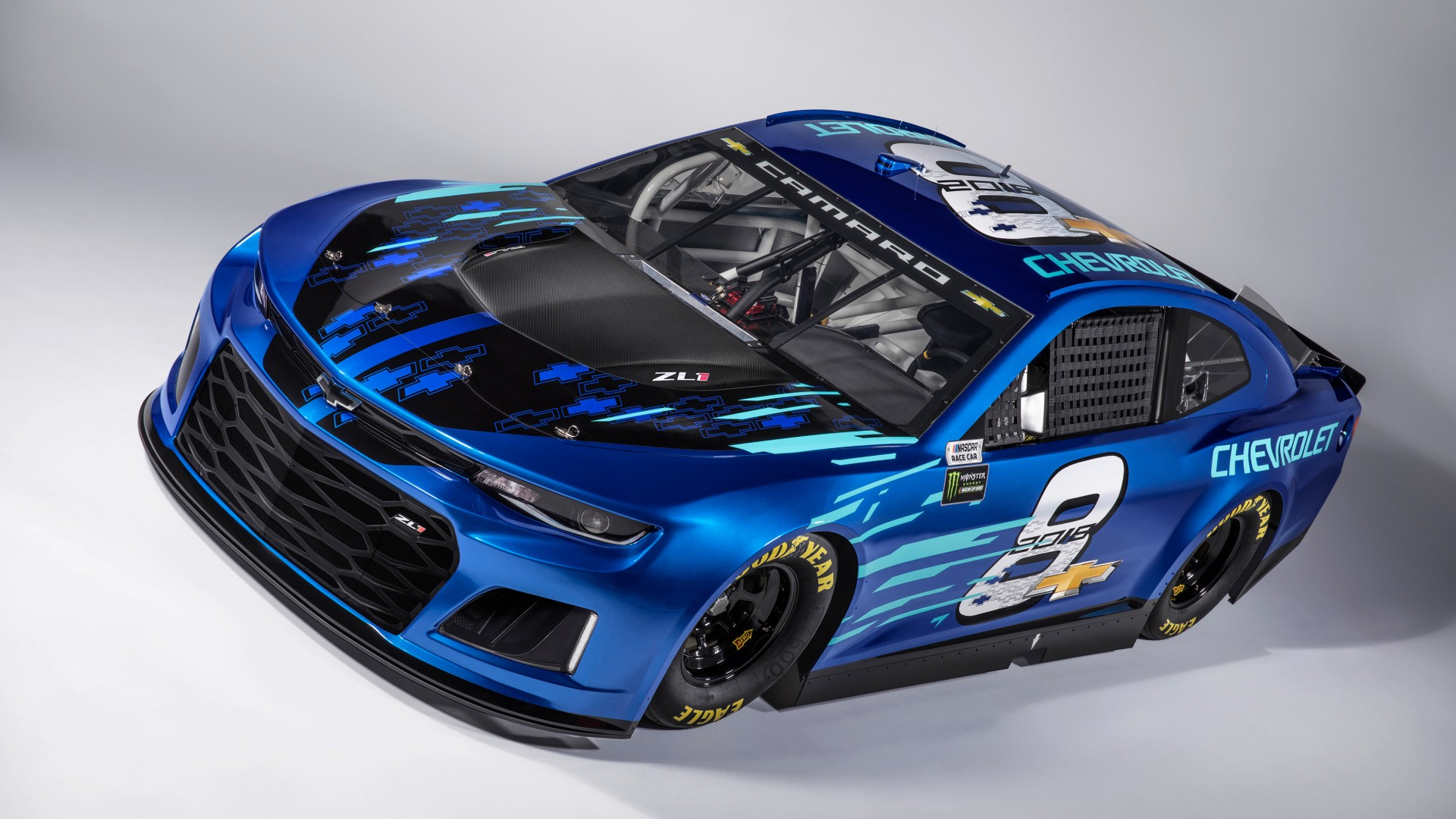 Chevrolet Camaro Zl Nascar Race Car X