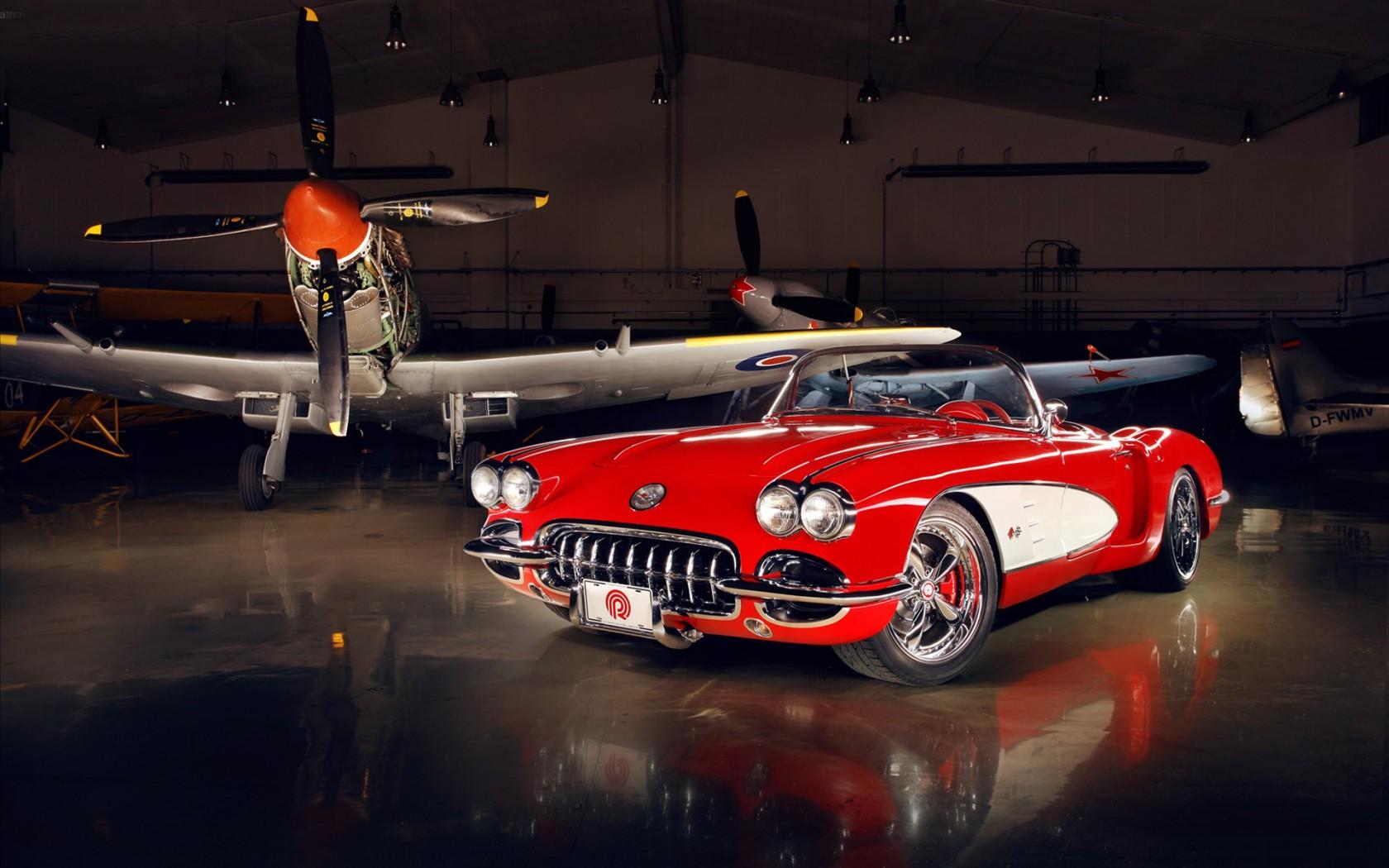 Chevrolet Corvette 1959 Pogea Racing 3 Wallpaper Hd Car
