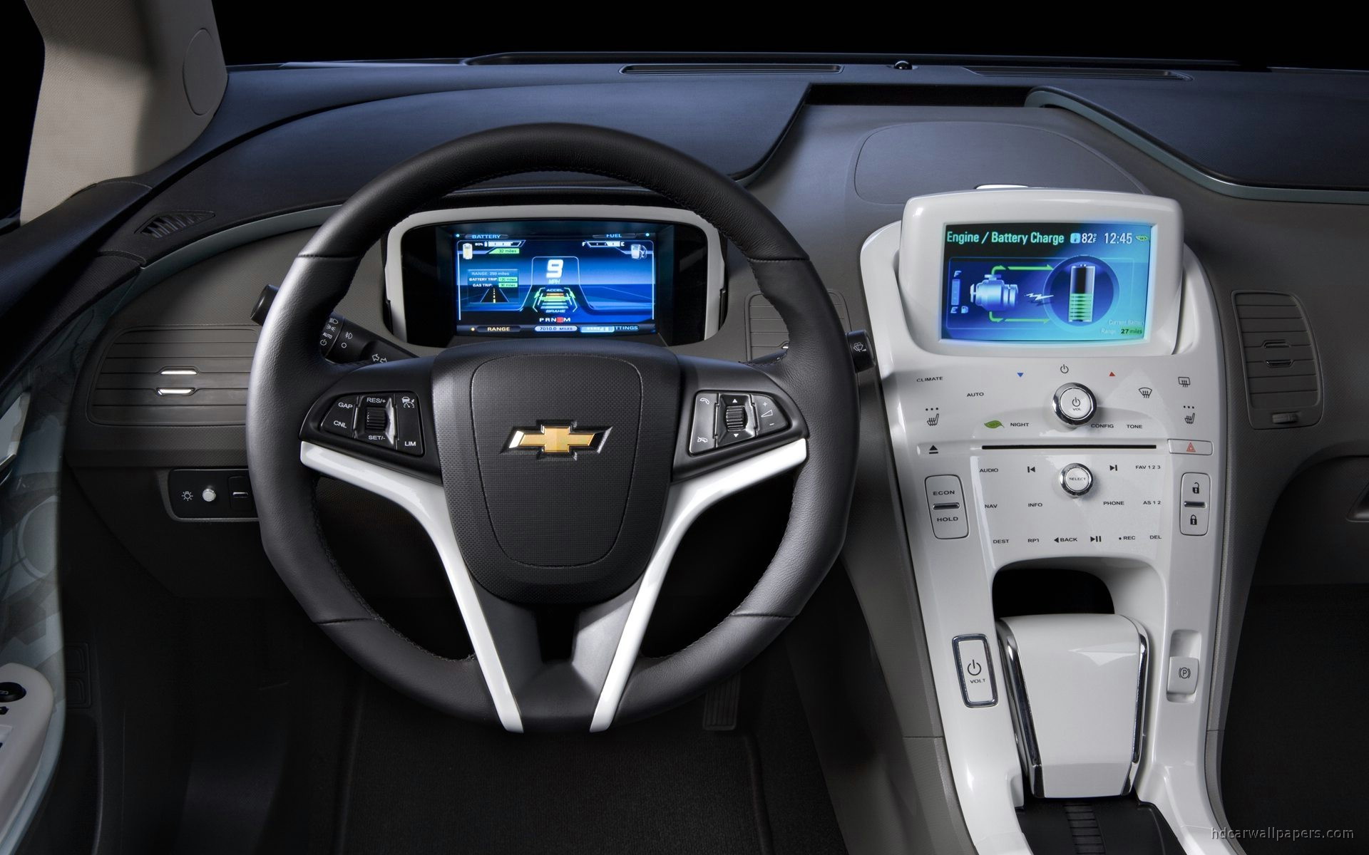 Chevrolet Volt Interior Wallpaper HD Car Wallpapers ID