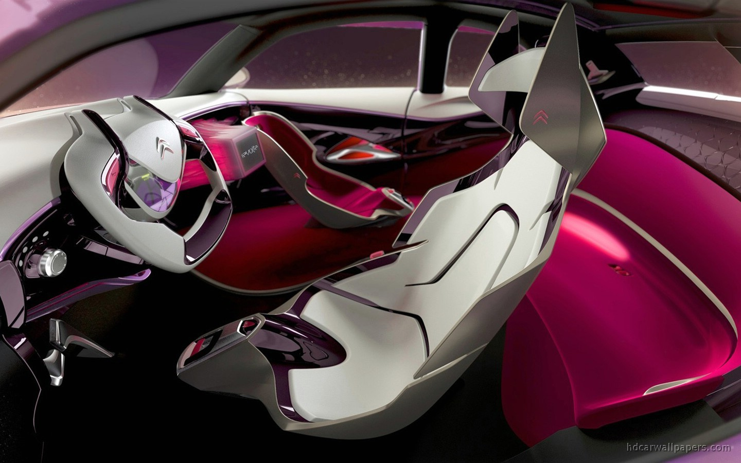 Citroen Revolte Concept Interior Wallpaper | HD Car ...