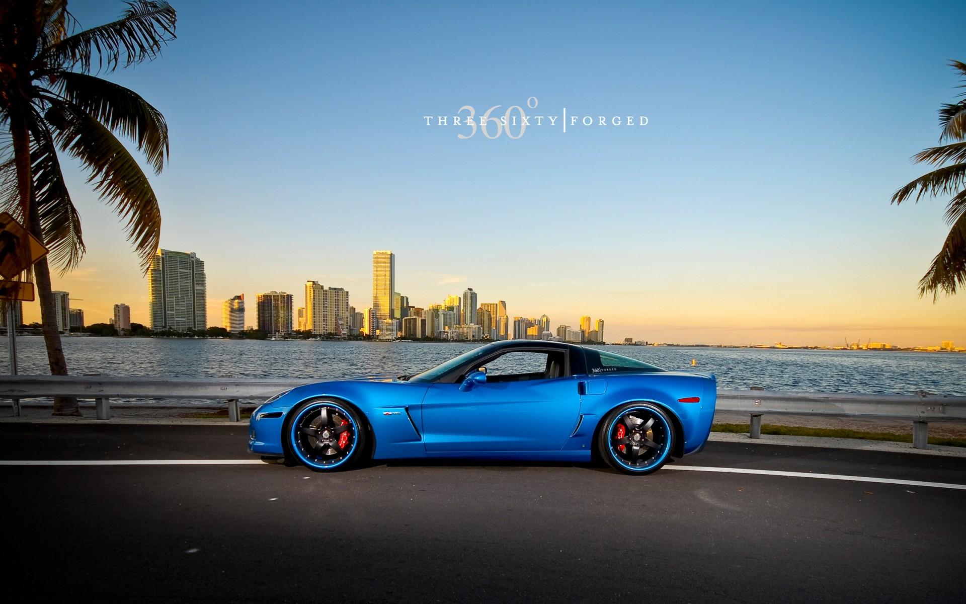 Corvette Z06 Jetstream Blue Wallpaper Hd Car Wallpapers