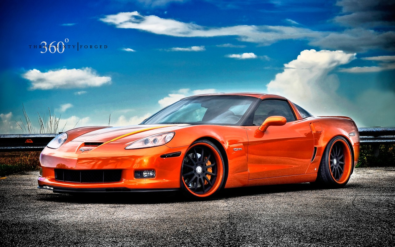 Corvette Z06 On 360 Forged Wheels Wallpaper Hd Car