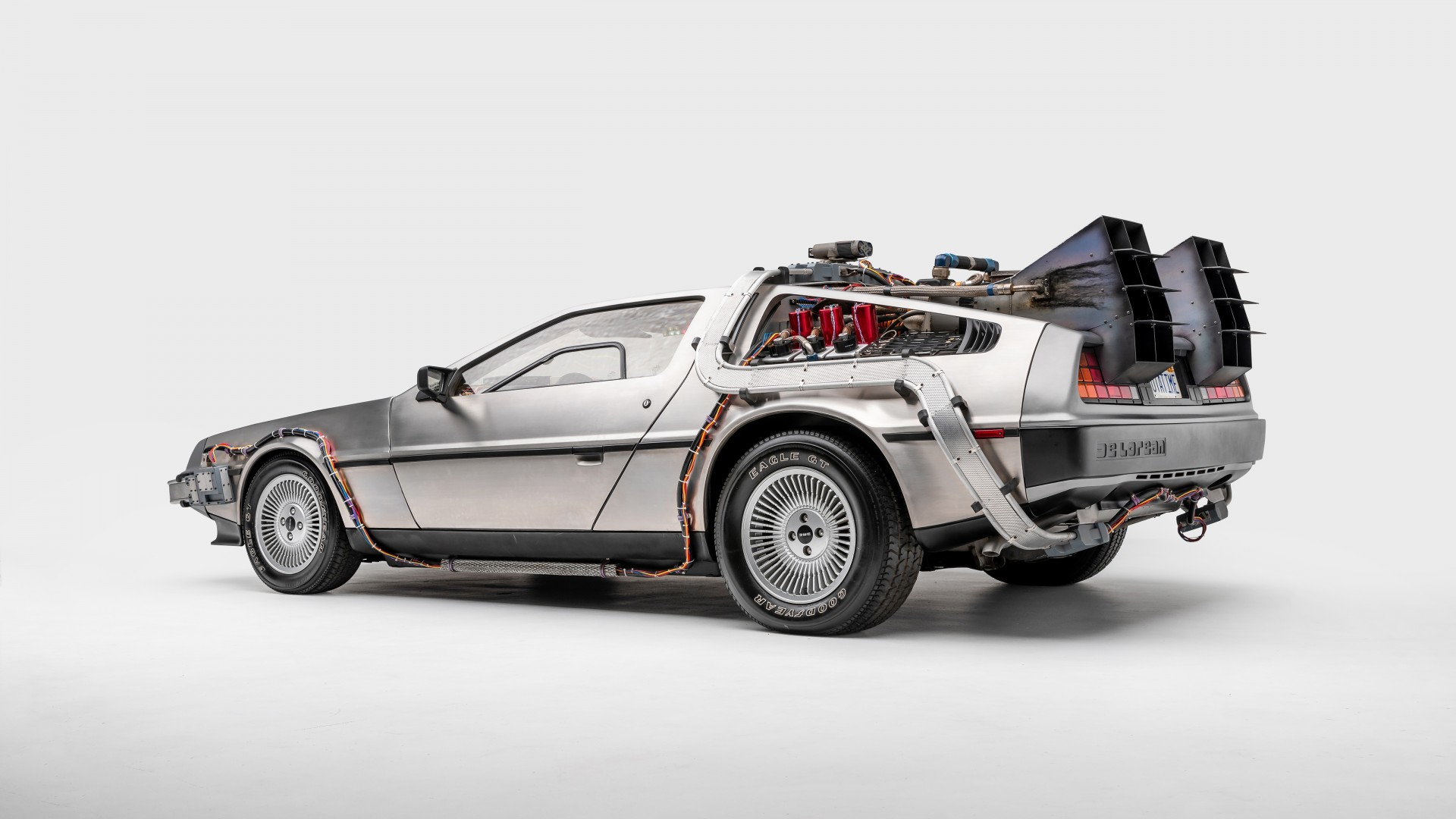 Delorean Dmc 12 Back To The Future 4k 3 Wallpaper Hd Car