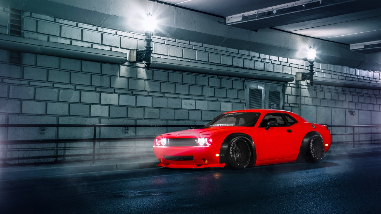 Dodge Challenger Srt Wallpaper Hd Car Wallpapers Id 5965