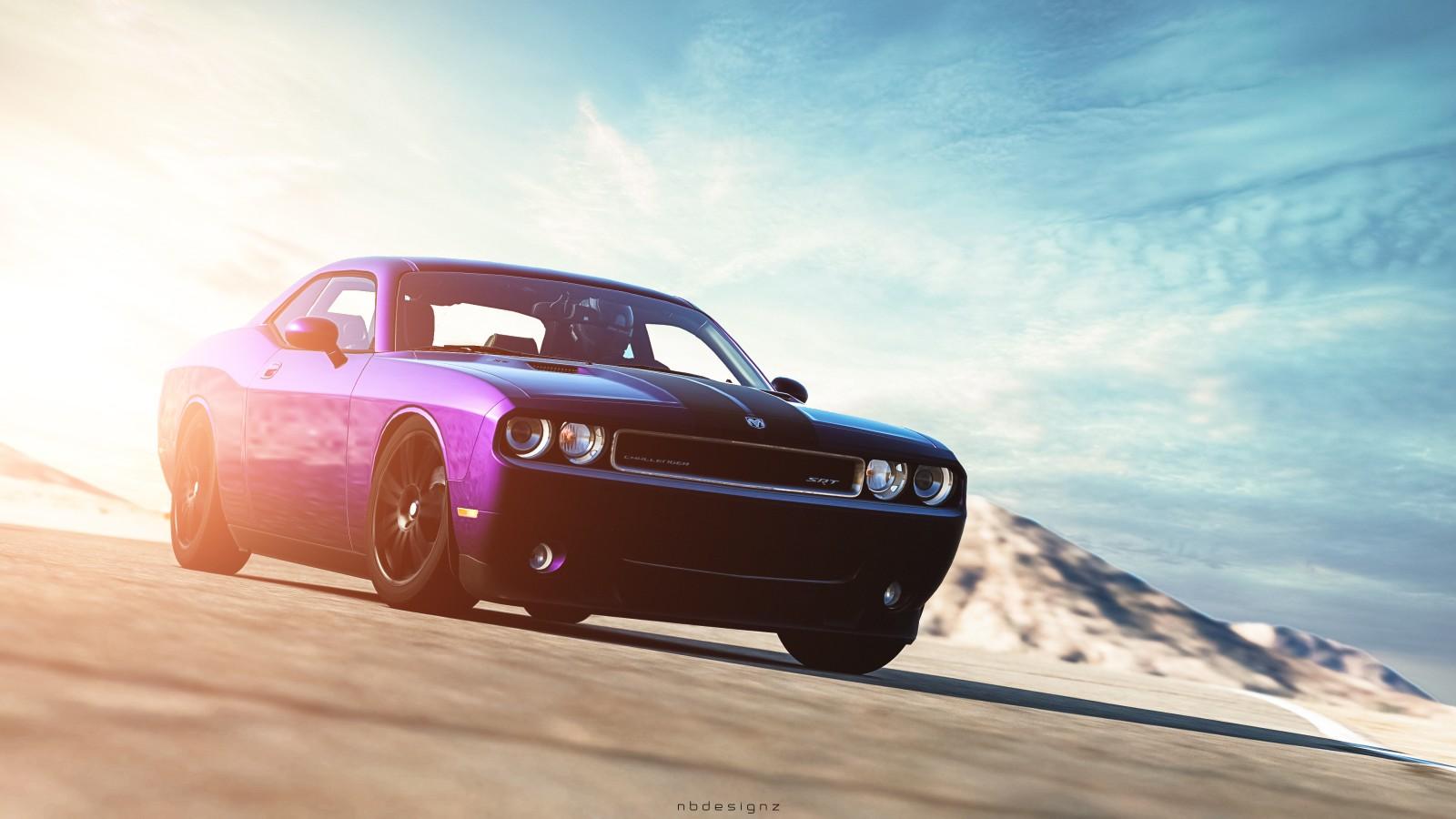 Dodge Challenger Srt8 Gran Turismo 6 Wallpaper Hd Car